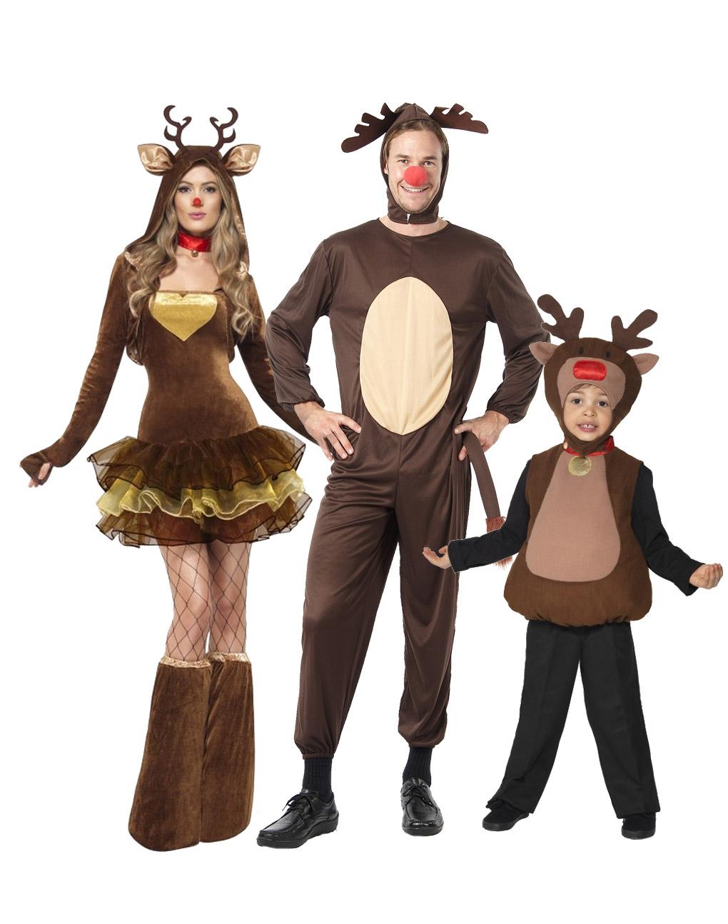 Disfraz familia reno disfraces parejas y disfraces - Disfraz de reno nina ...