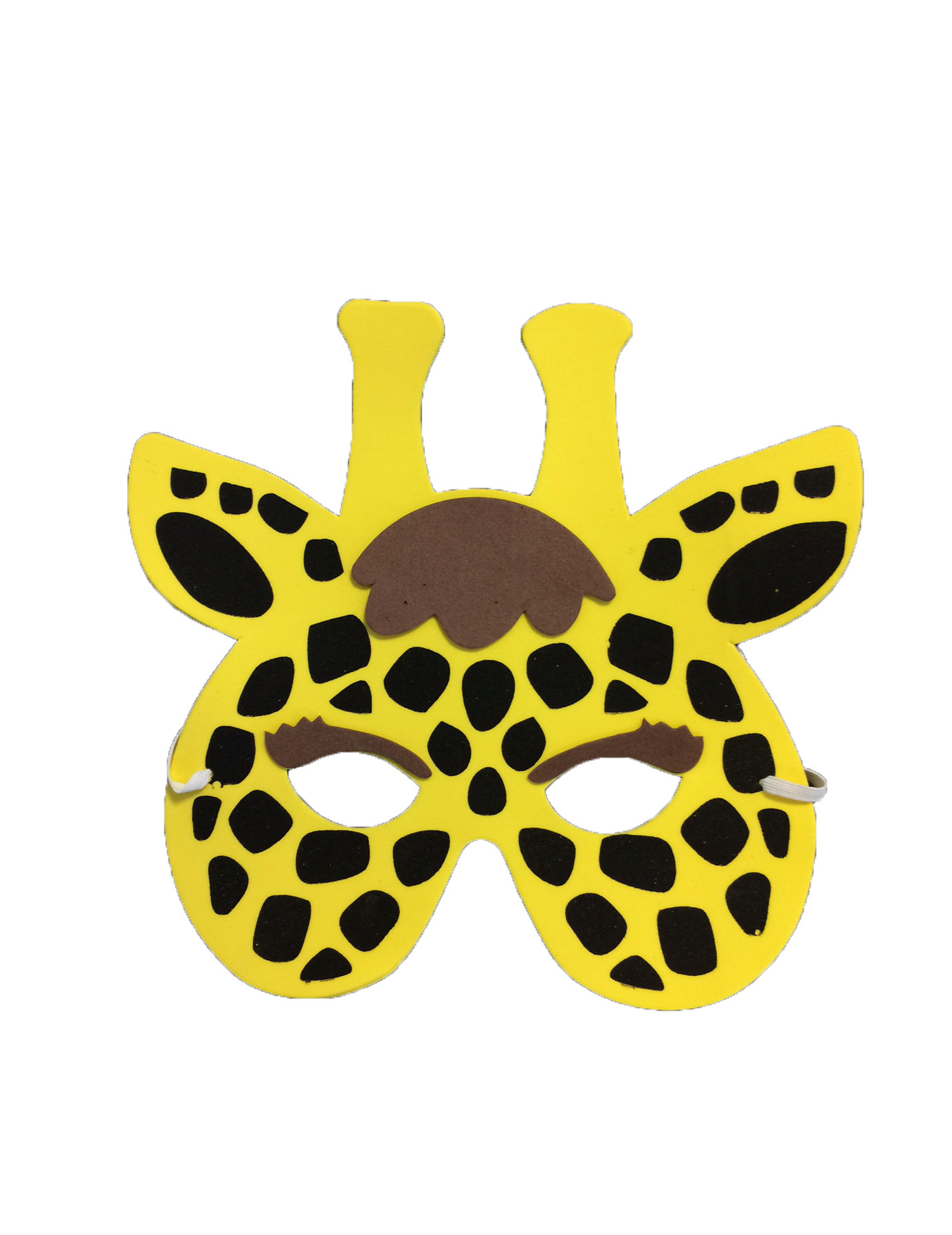 Mascara jirafa para imprimir - Imagui
