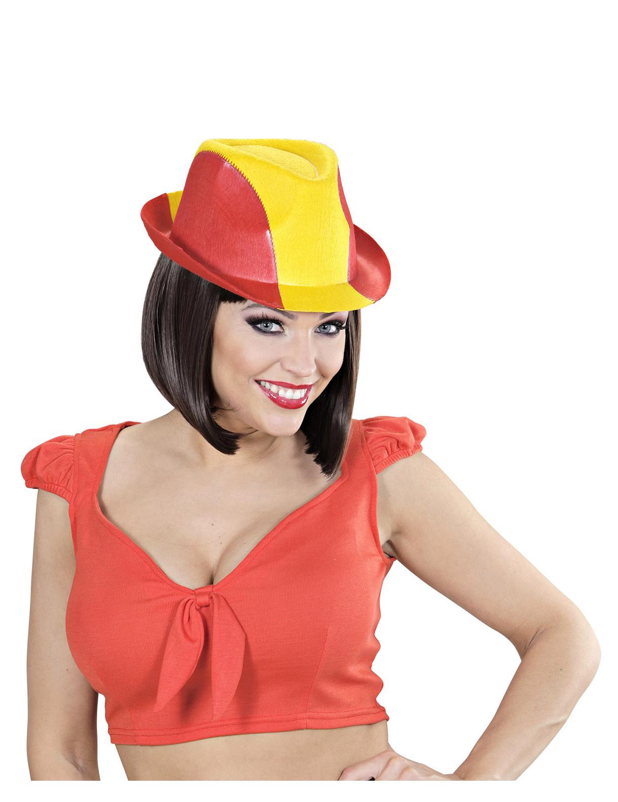 chapeau supporter espagne adulte deguise toi achat de chapeaux. Black Bedroom Furniture Sets. Home Design Ideas