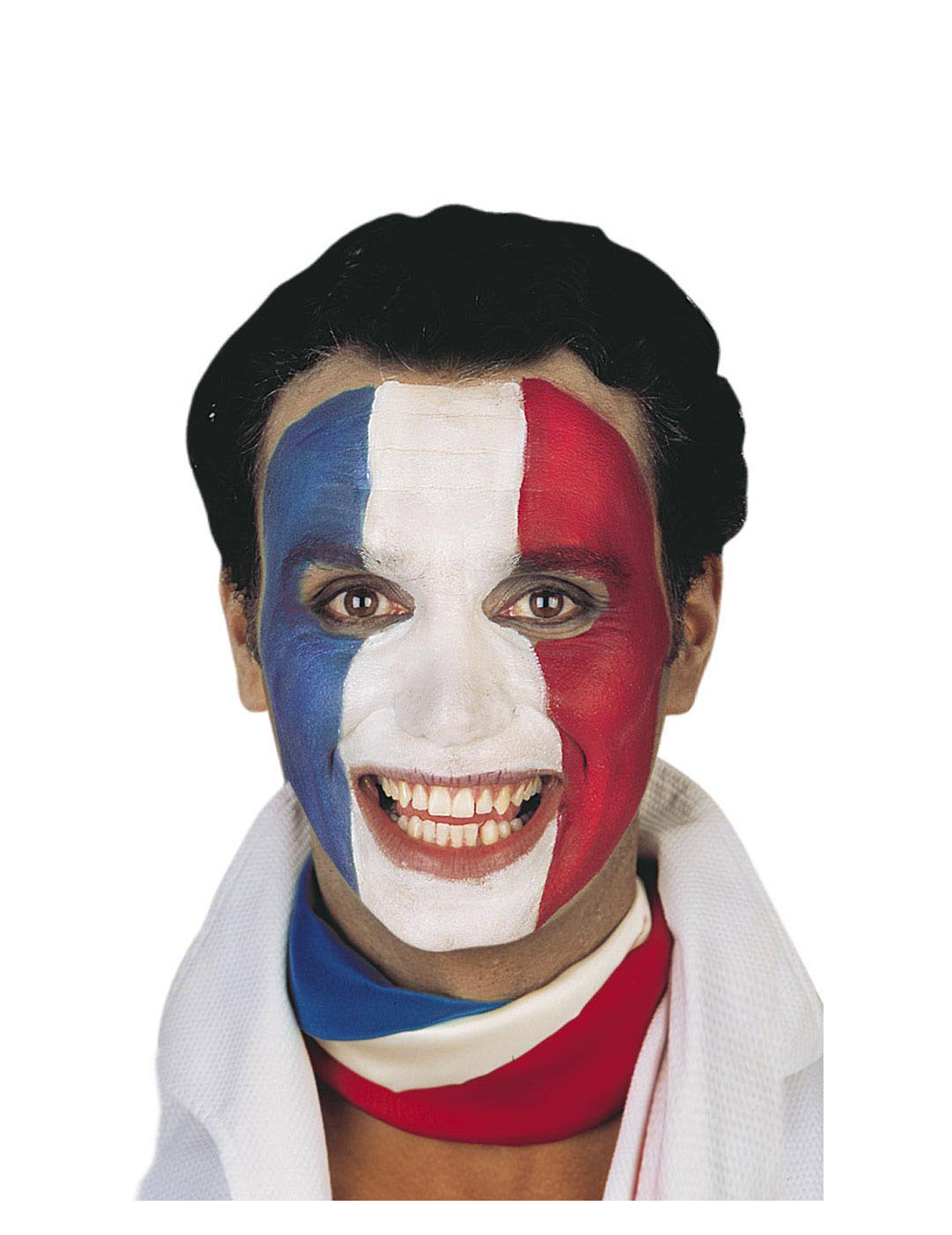 Maquillage supporter france deguise toi achat de maquillage - Maquillage blanc visage ...