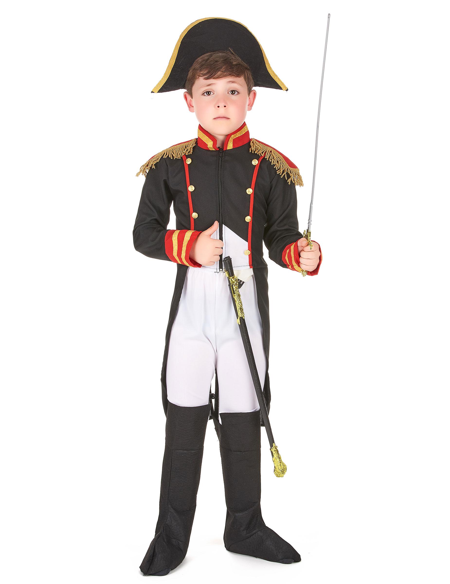 Vestito di carnevale per bambino da condottiero francese napoleone - Foto garcon ans ...