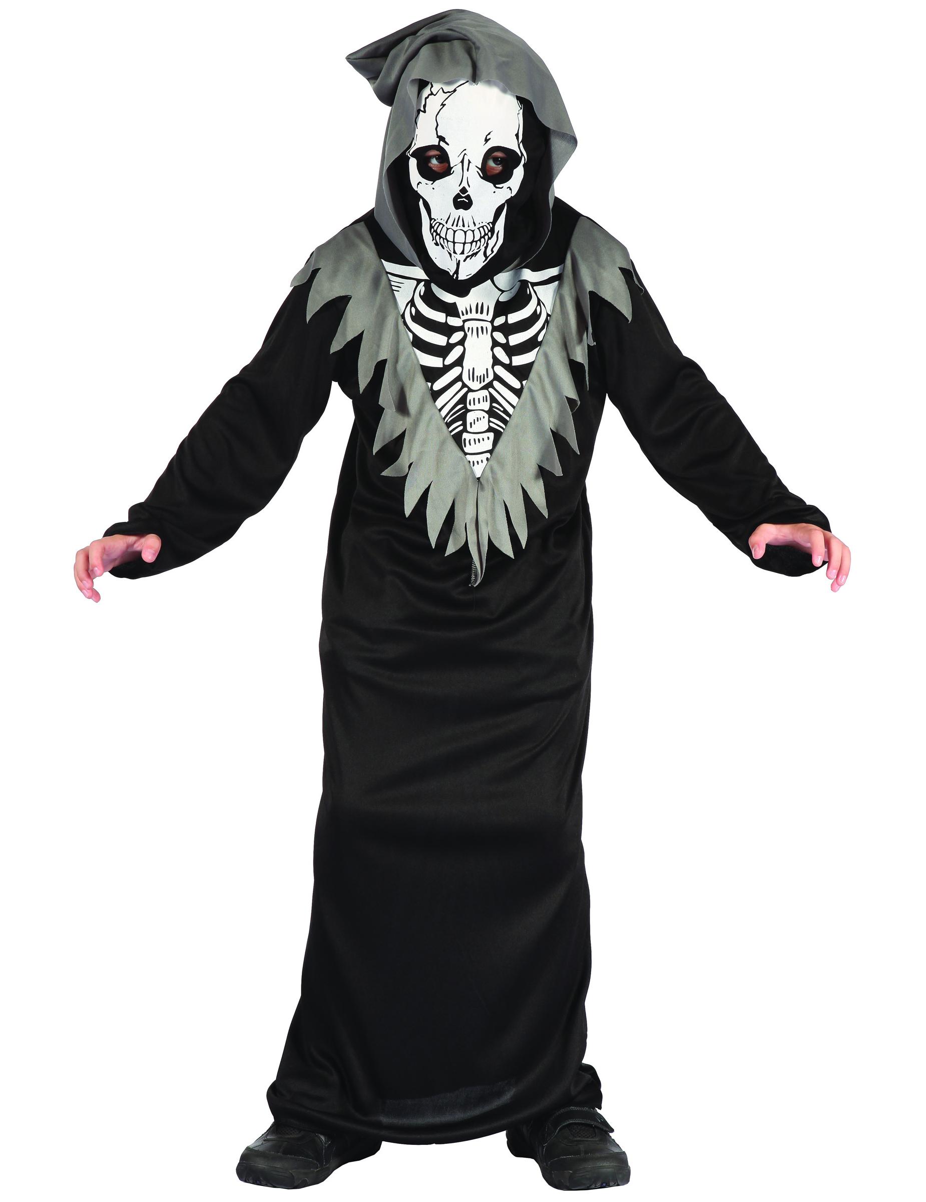 d guisement squelette faucheur gar on deguise toi achat de d guisements enfants. Black Bedroom Furniture Sets. Home Design Ideas