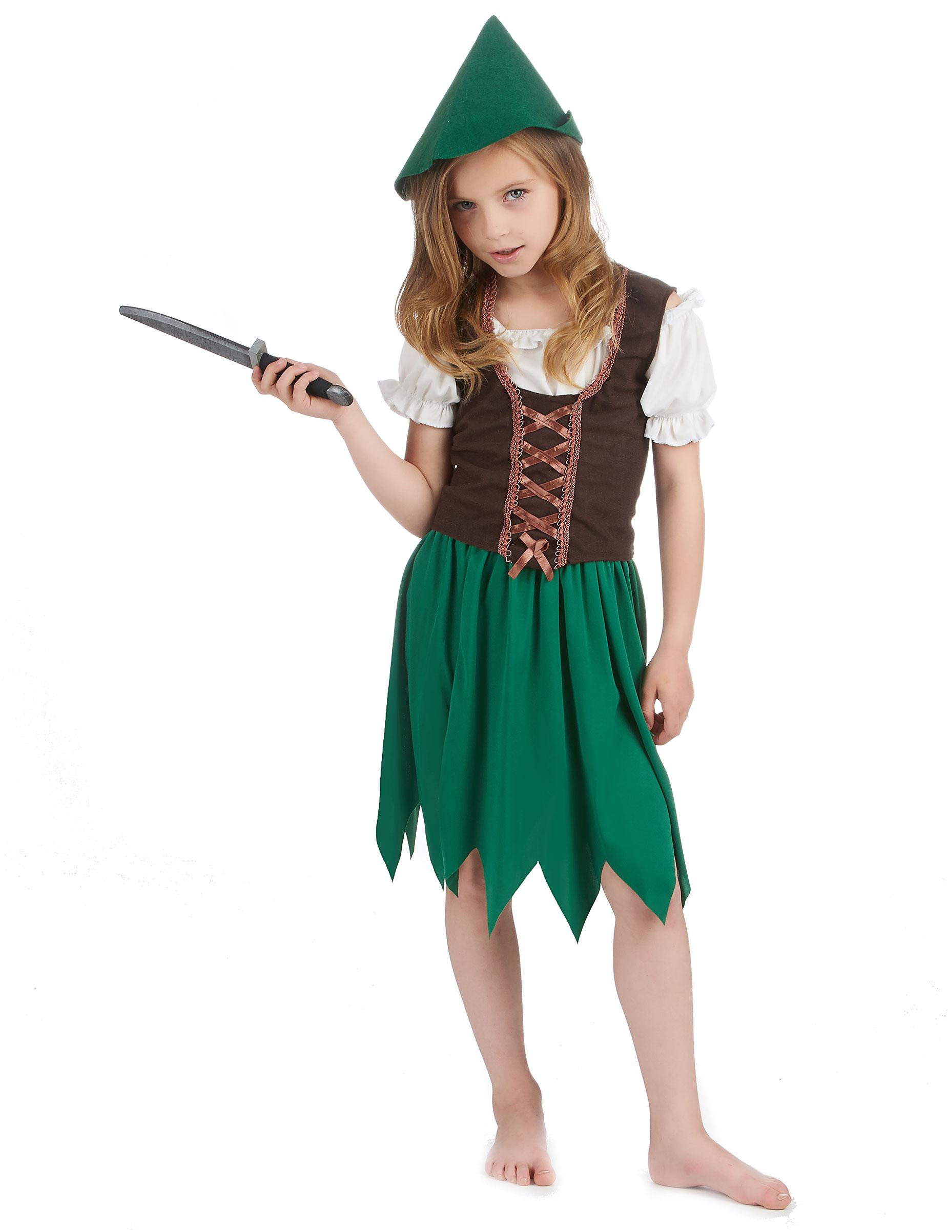 D guisement fille des bois deguise toi achat de - Deguisement robin des bois fille ...