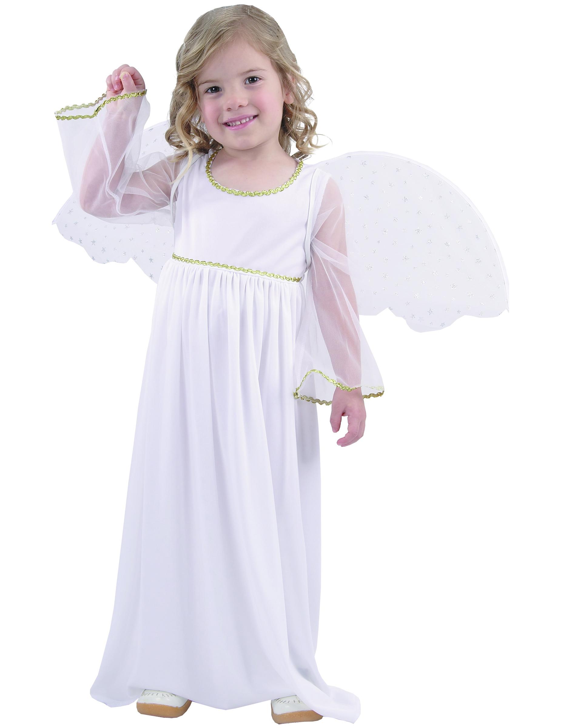 Disfraz de ngel blanco ni a - Trajes de angelitos para ninos ...