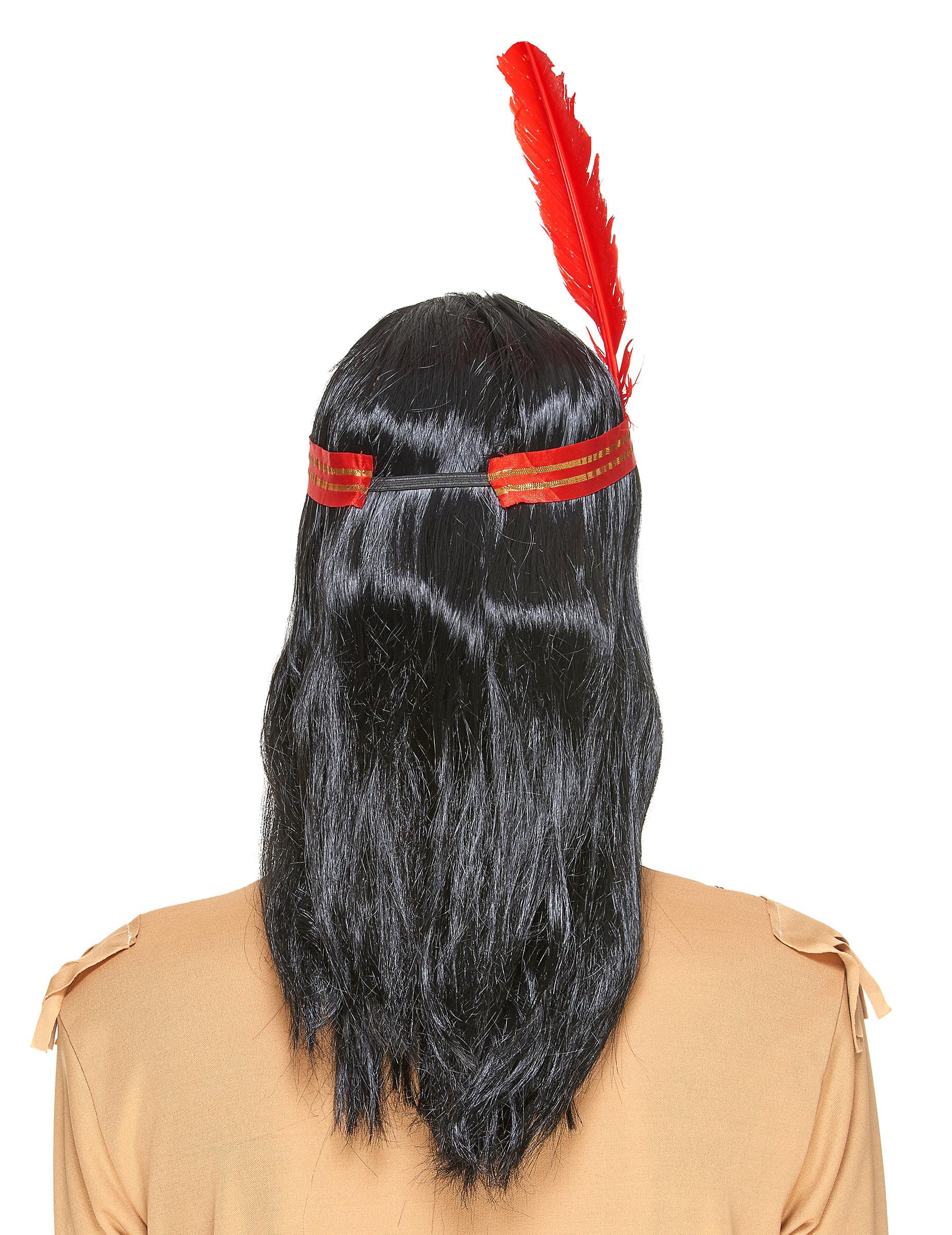 perruque indien adulte achat de perruques sur vegaoopro grossiste en d guisements. Black Bedroom Furniture Sets. Home Design Ideas