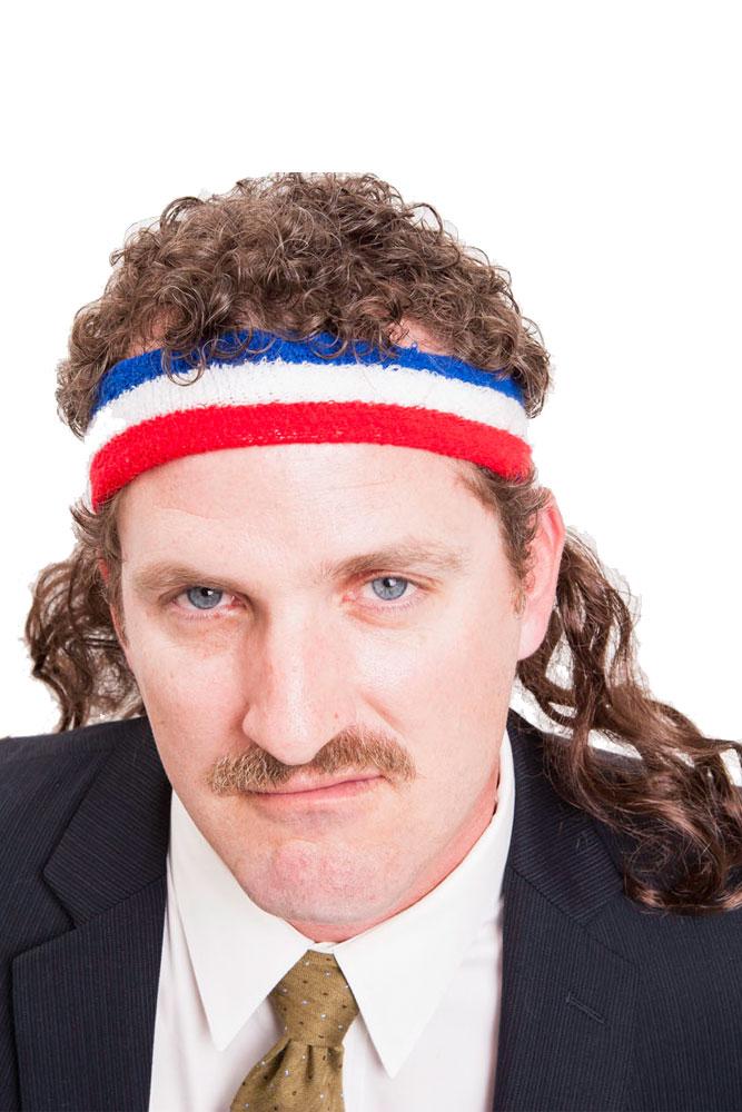 Bandeau mulet bleu blanc et rouge mulletonthego deguise for Mulet coupe de cheveux