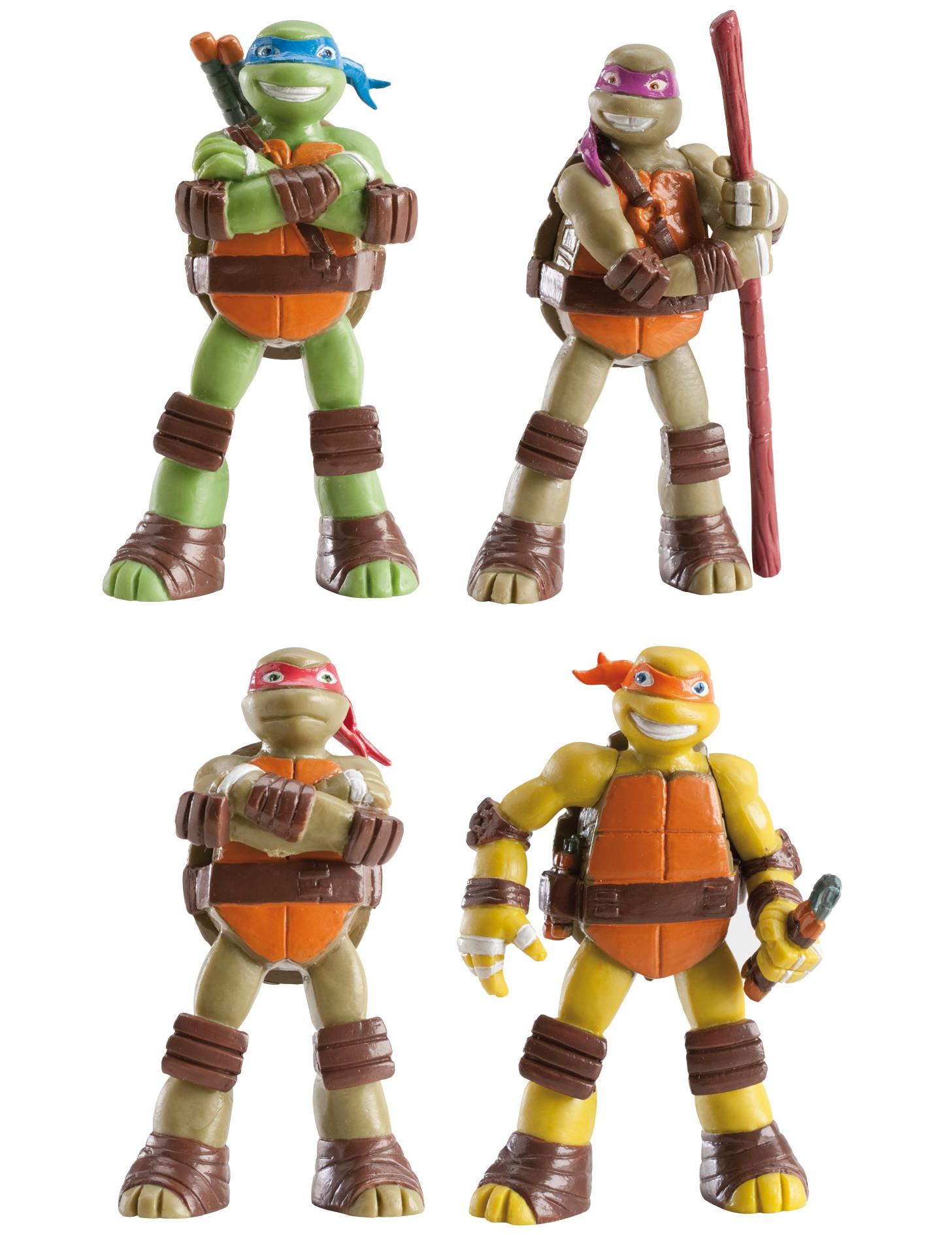 Figurine tortues ninja deguise toi achat de decoration - Image tortue ninja ...