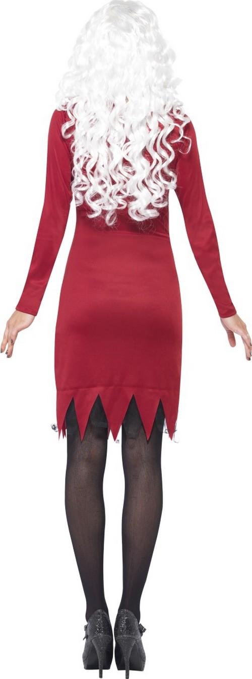 halloween skelett kost m rot f r damen g nstig bei vegaoo. Black Bedroom Furniture Sets. Home Design Ideas