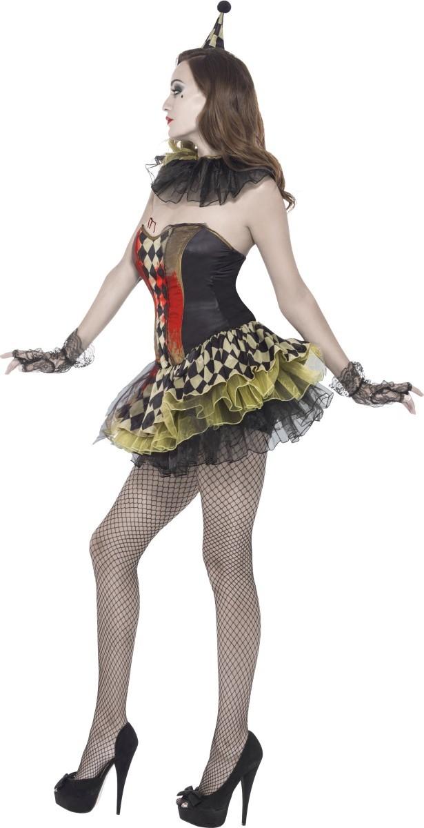 d guisement zombie bouffon femme halloween deguise toi achat de d guisements adultes. Black Bedroom Furniture Sets. Home Design Ideas