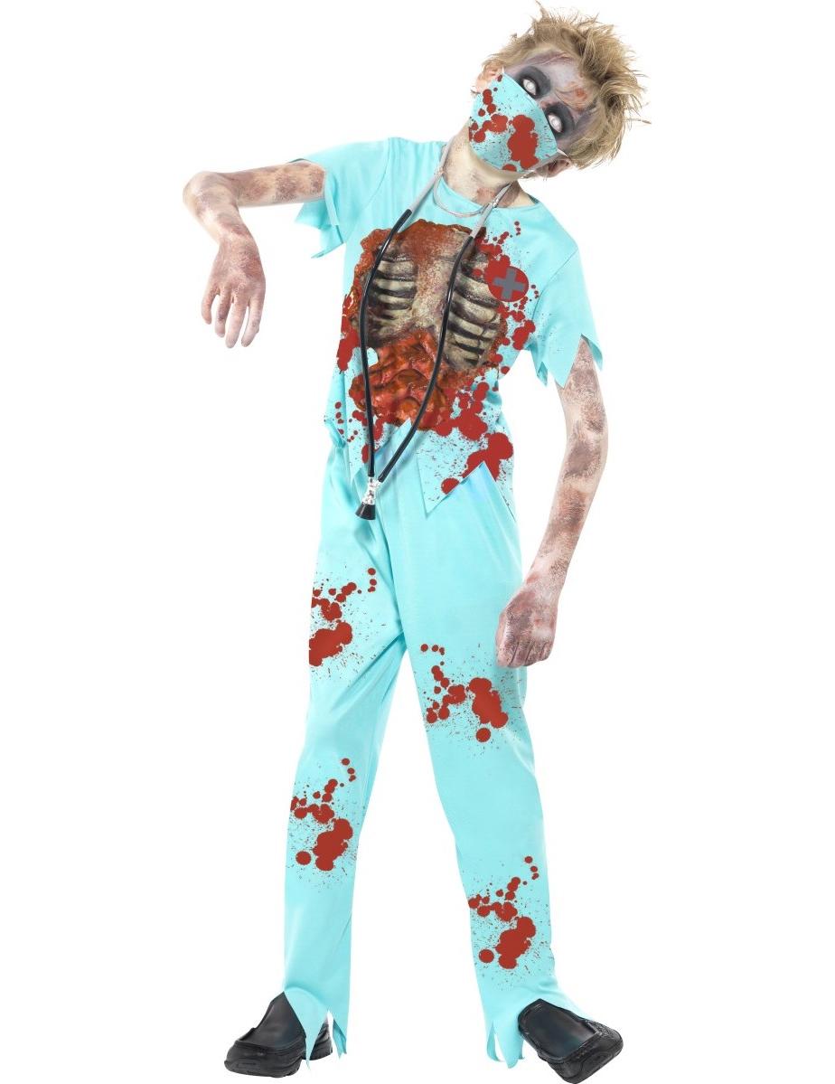 d guisement docteur zombie enfant halloween deguise toi. Black Bedroom Furniture Sets. Home Design Ideas