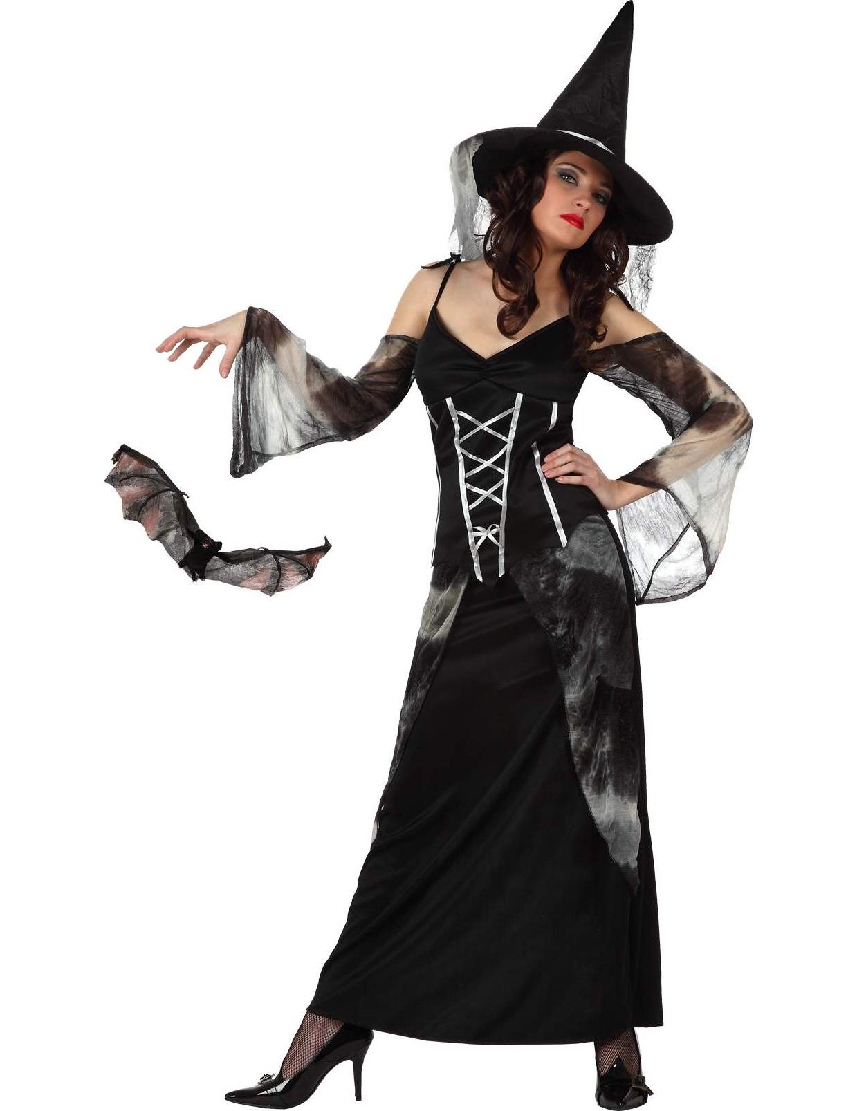 d guisement sorci re chauve souris femme halloween. Black Bedroom Furniture Sets. Home Design Ideas