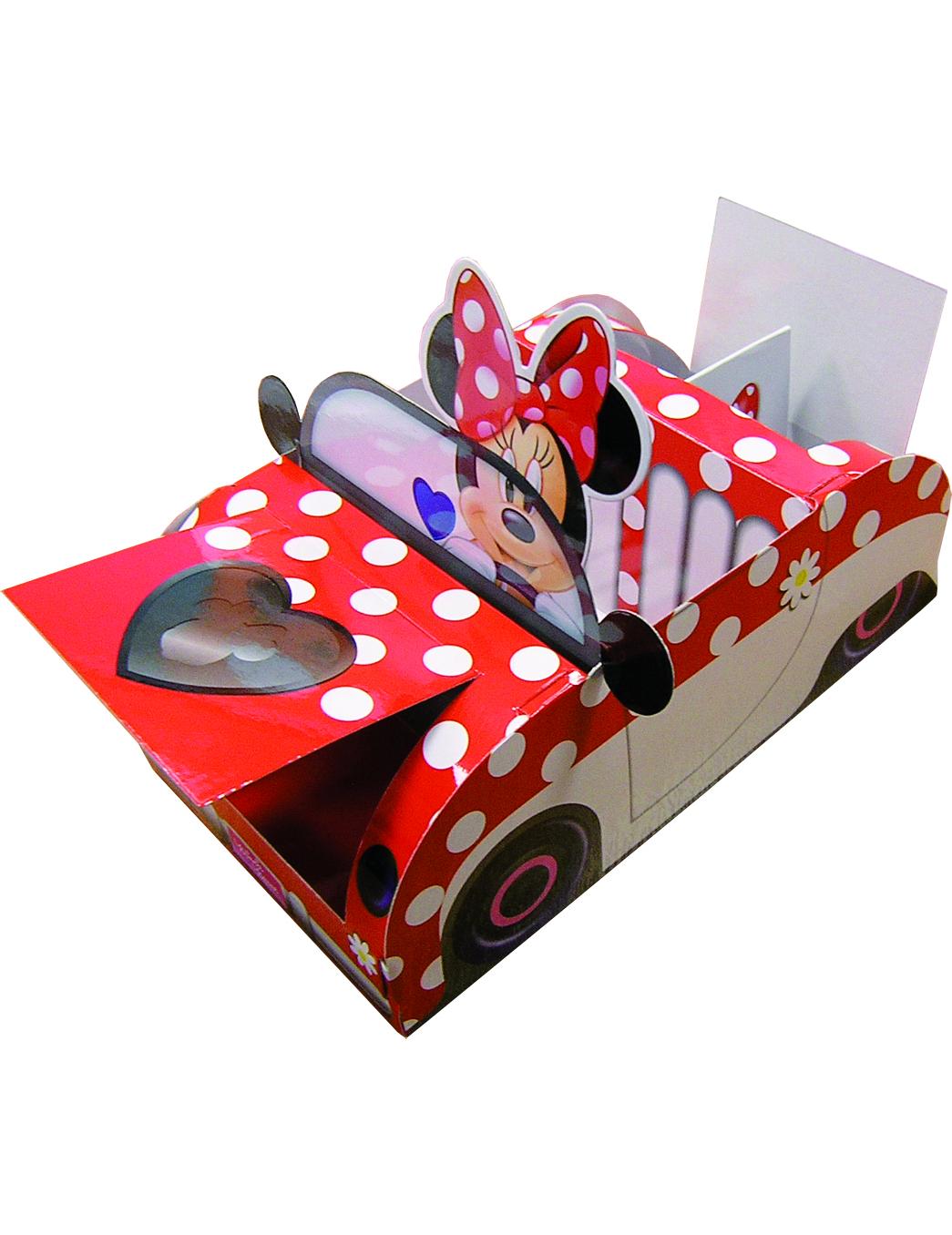 boite carton minnie achat de decoration animation sur. Black Bedroom Furniture Sets. Home Design Ideas