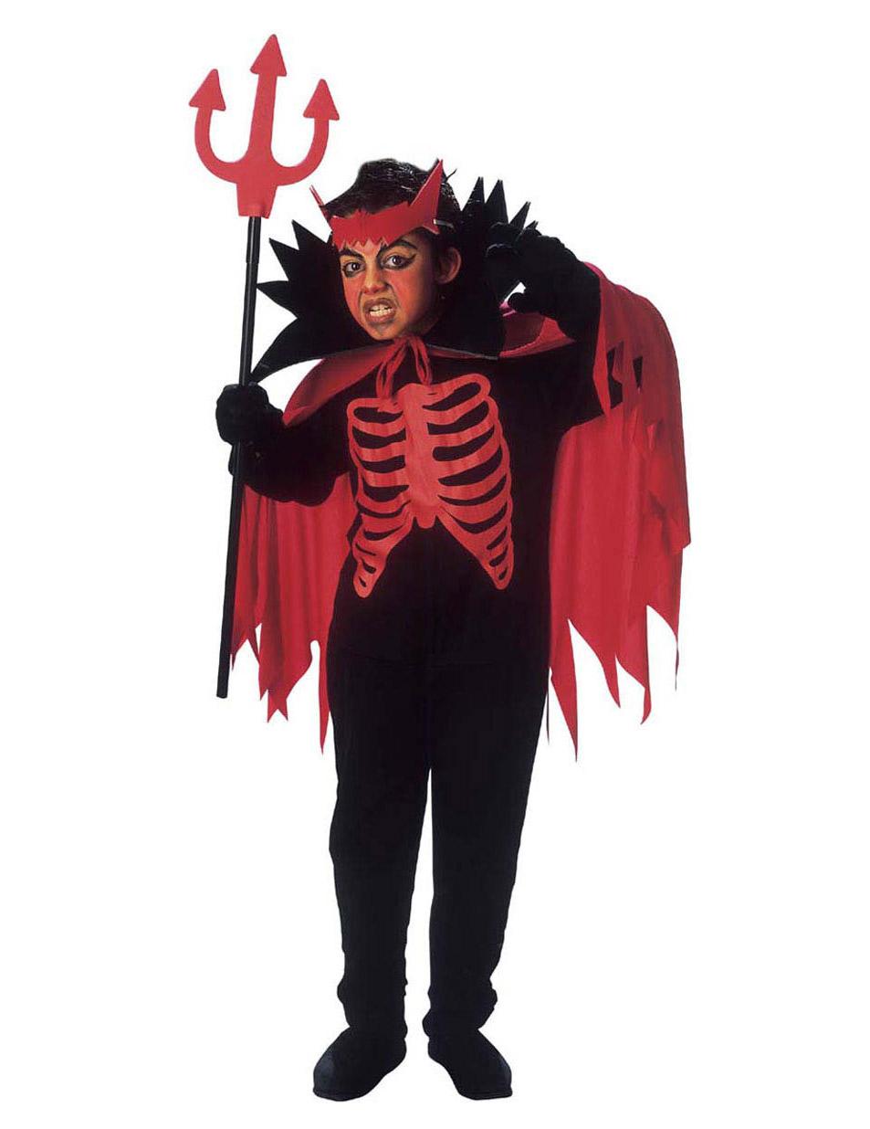 d guisement diable rouge gar on halloween. Black Bedroom Furniture Sets. Home Design Ideas