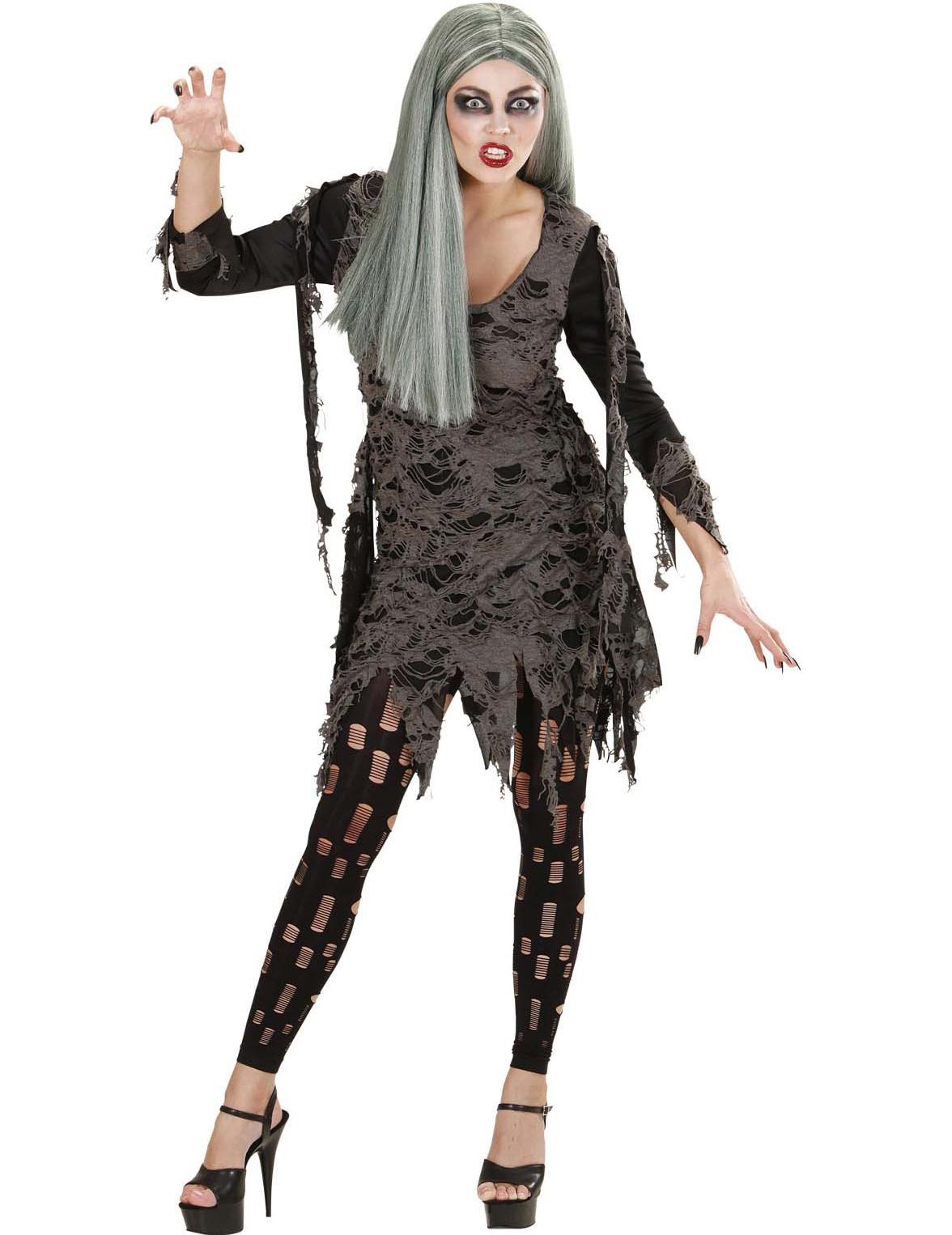 D Guisement Mort Vivant Femme Halloween