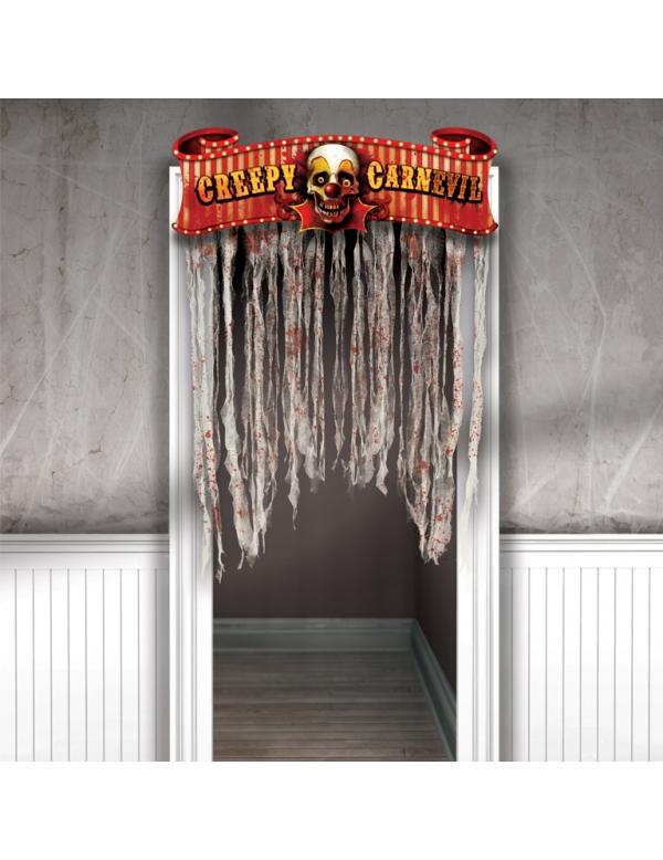 decoraci n de puerta halloween. Black Bedroom Furniture Sets. Home Design Ideas