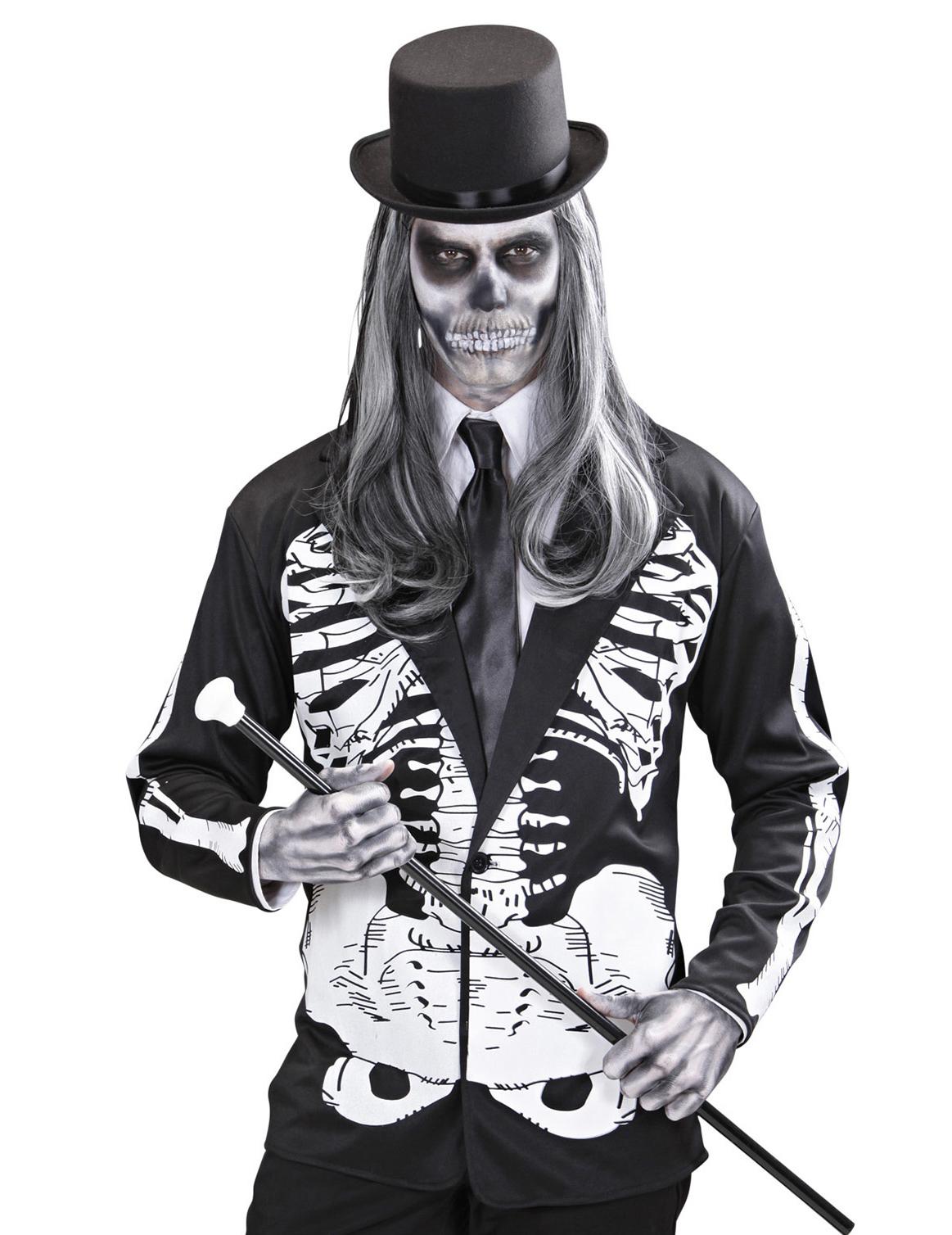 Veste squelette adulte halloween deguise toi achat de - Halloween adulte ...