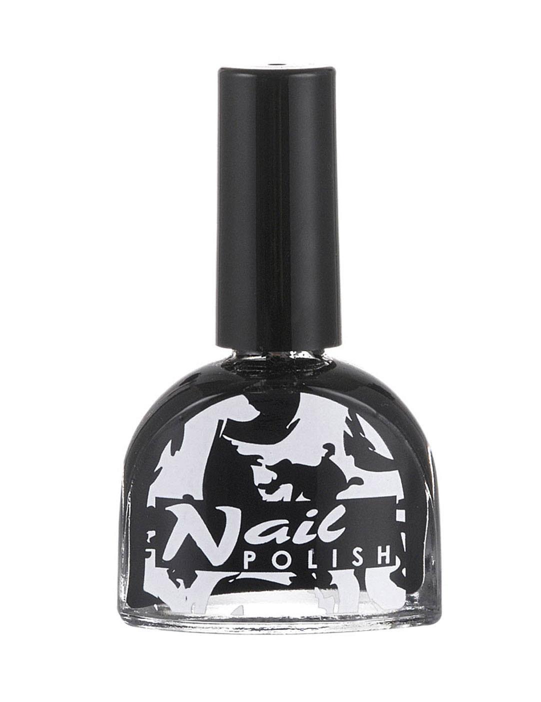 Noir vernis à ongles porno