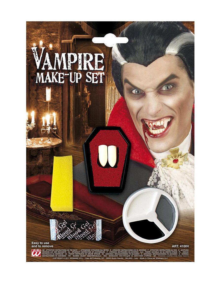 Set maquillage vampire adulte halloween achat de for Comidee maquillage halloween adulte