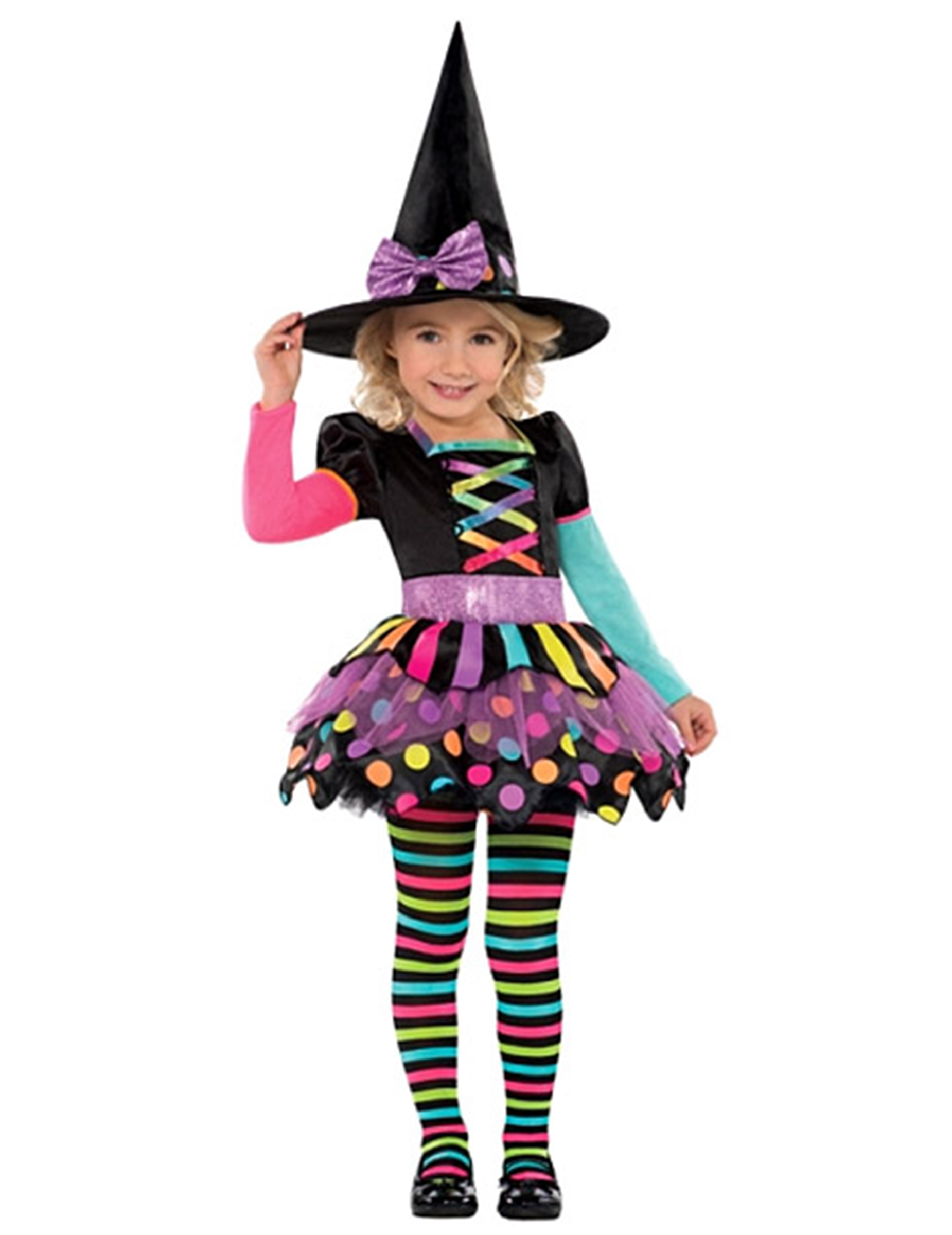 D guisement sorci re color e fille halloween deguise toi achat de d guisements enfants - Deguisement fille halloween ...