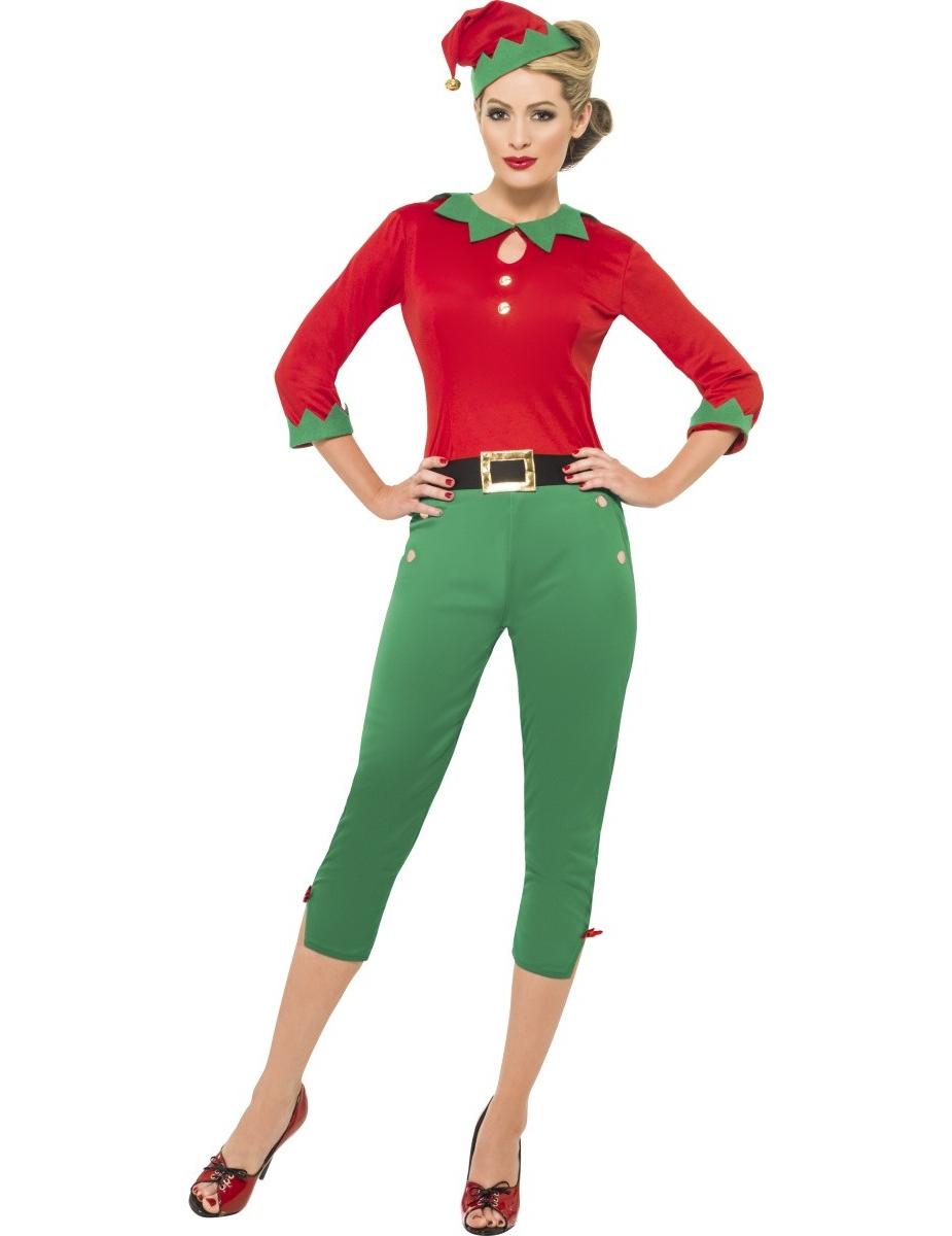 Disfraz elfo mujer navidad - Disfraces de duendes de navidad ...