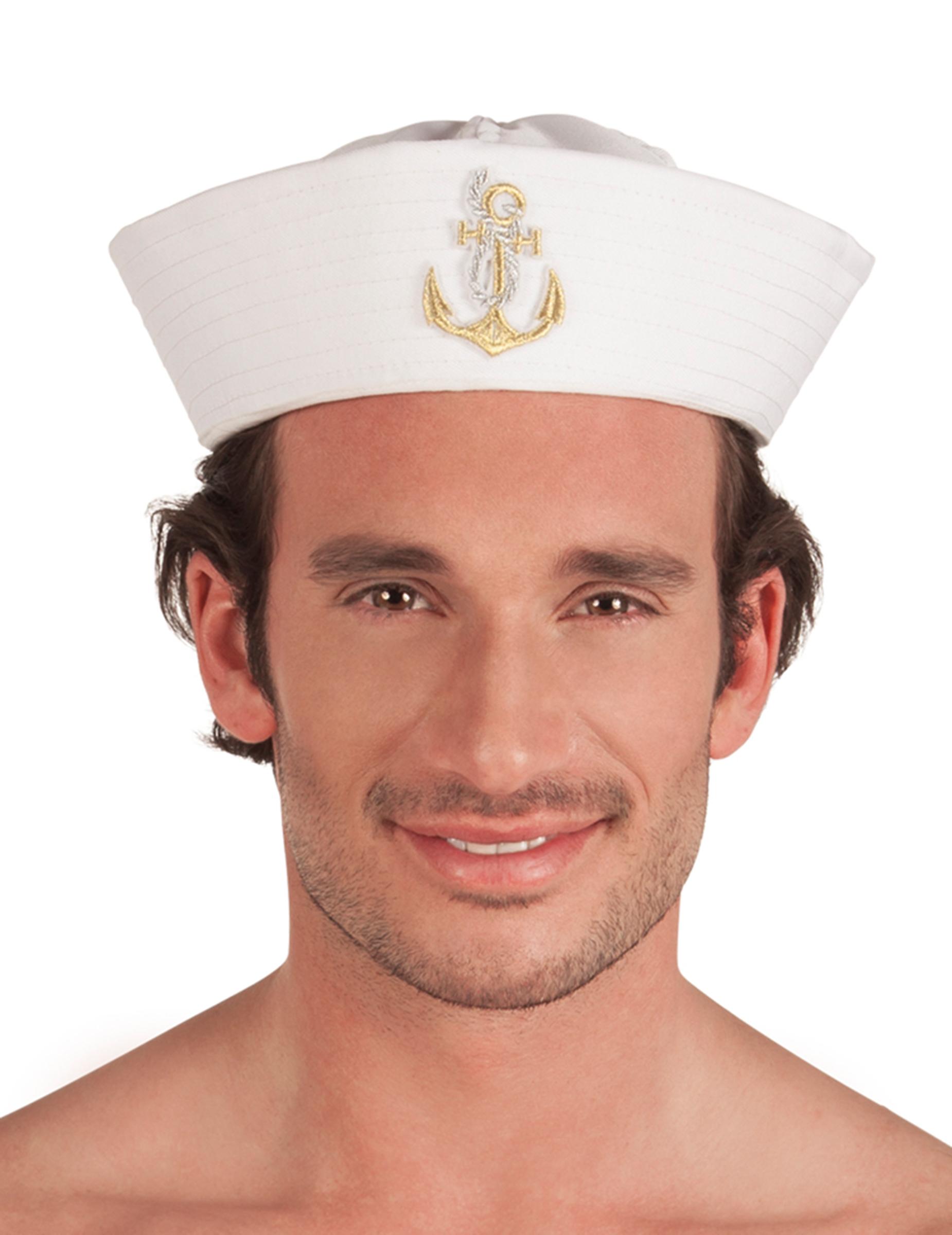 chapeau marin adulte deguise toi achat de chapeaux. Black Bedroom Furniture Sets. Home Design Ideas