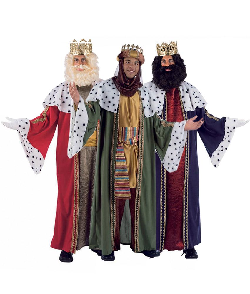 Disfraz rey mago melchor talla m-l - Magos disfraz, Rey y ...