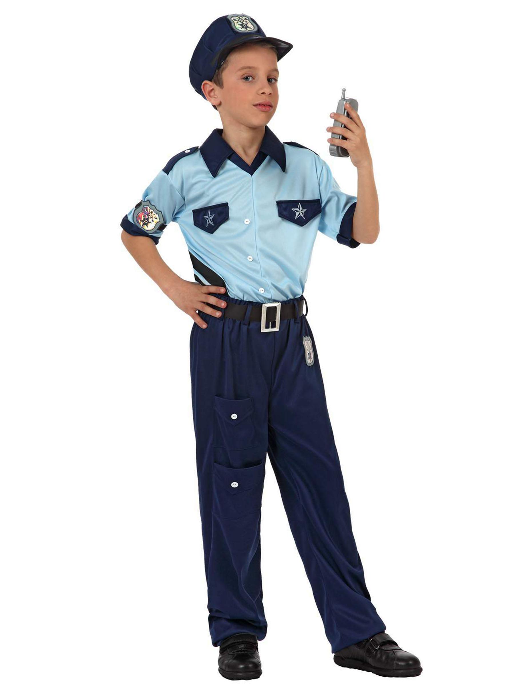 deguisement policier garcon 4 ans
