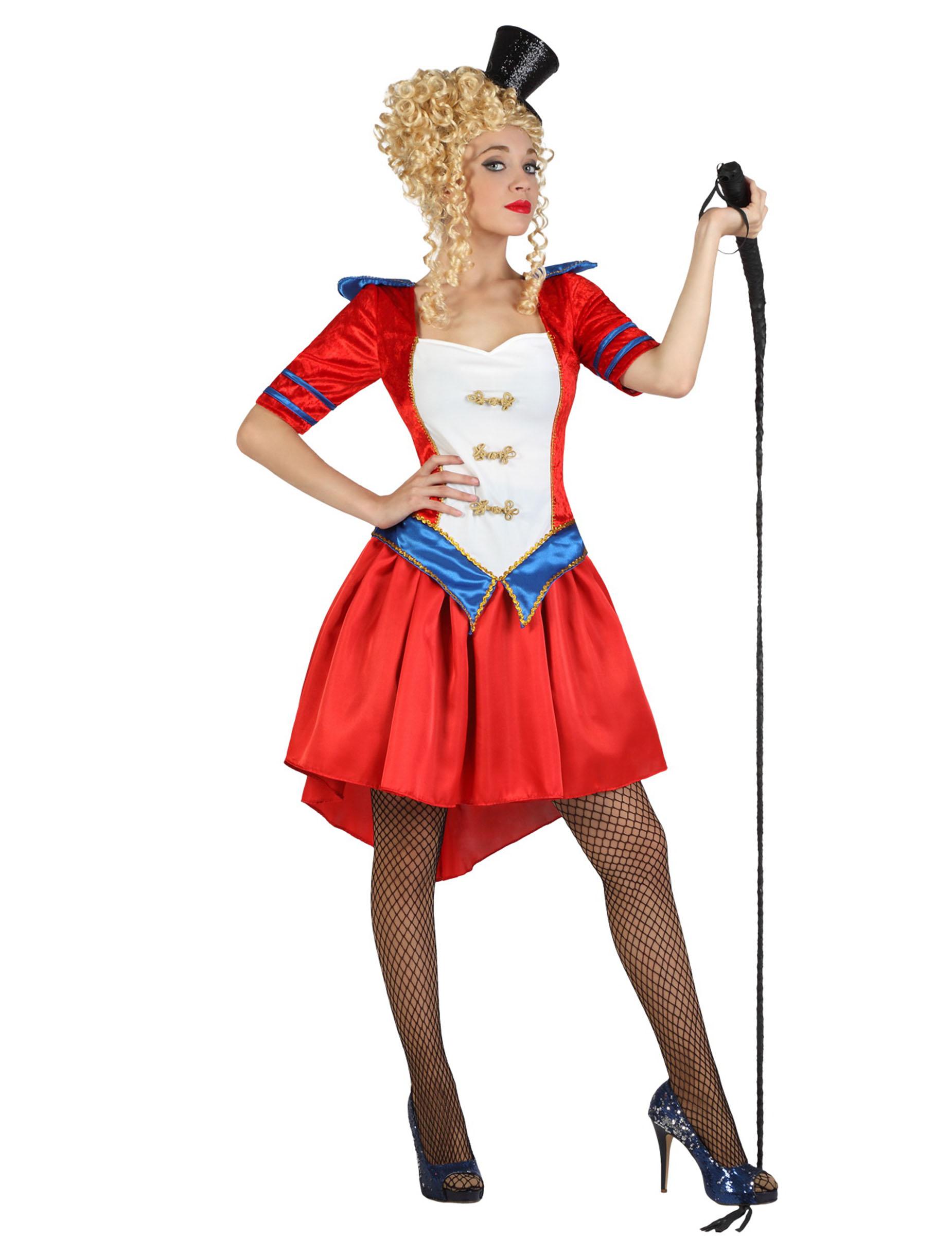 D guisement dompteuse de cirque femme achat de - Deguisement a faire soi meme adulte ...