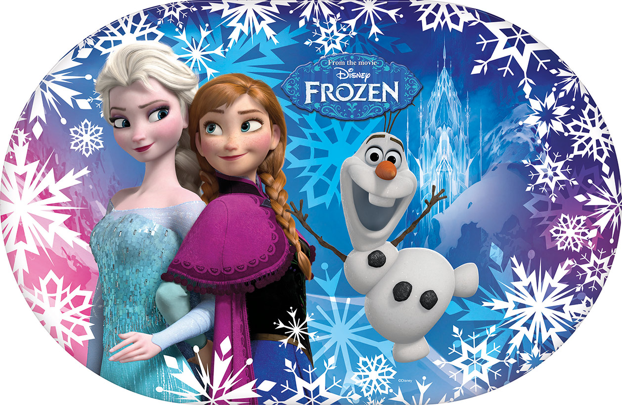 Set de table la reine des neiges - La reine des neiges frozen ...