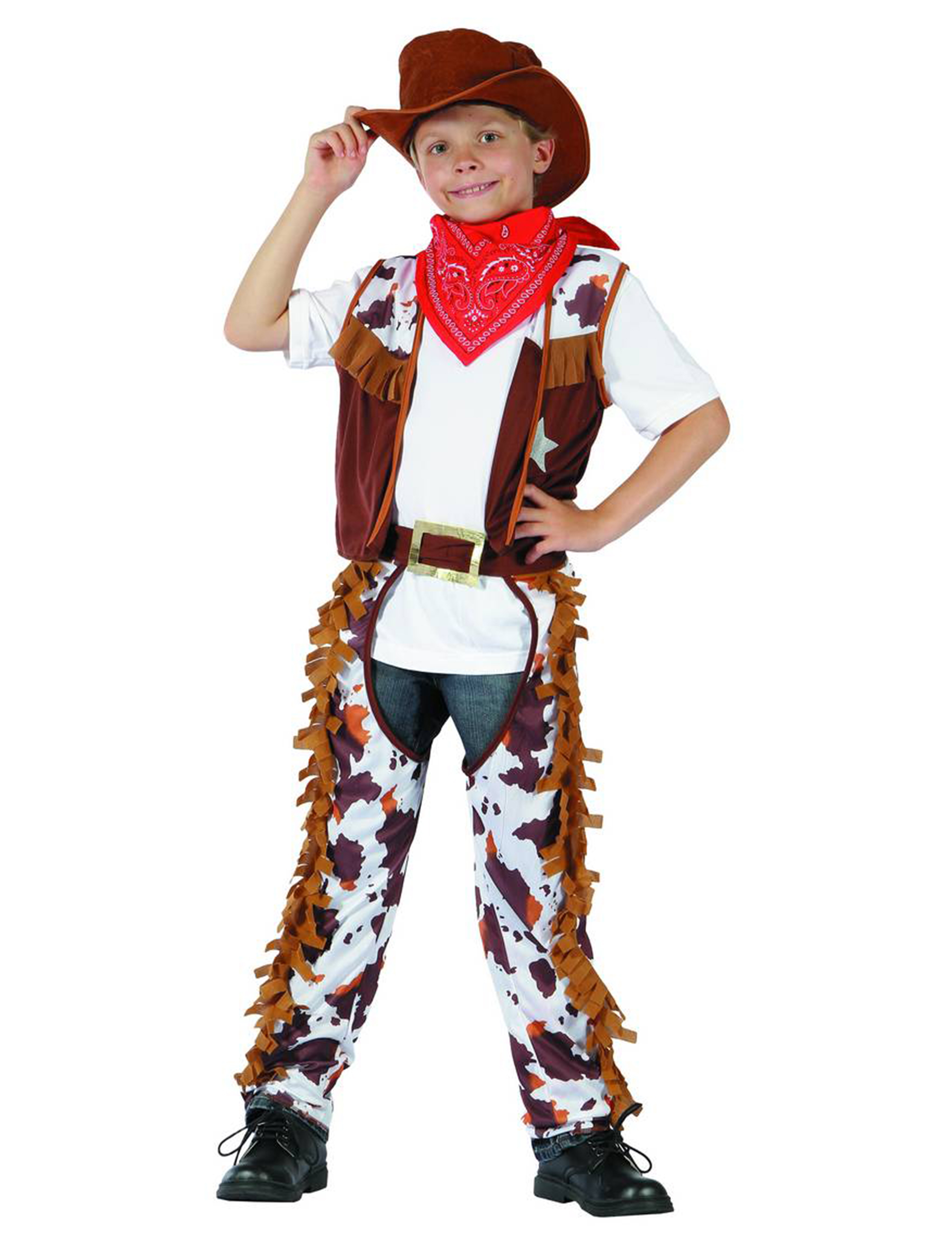 D guisement cowboy gar on - Deguisement cowboy enfant ...