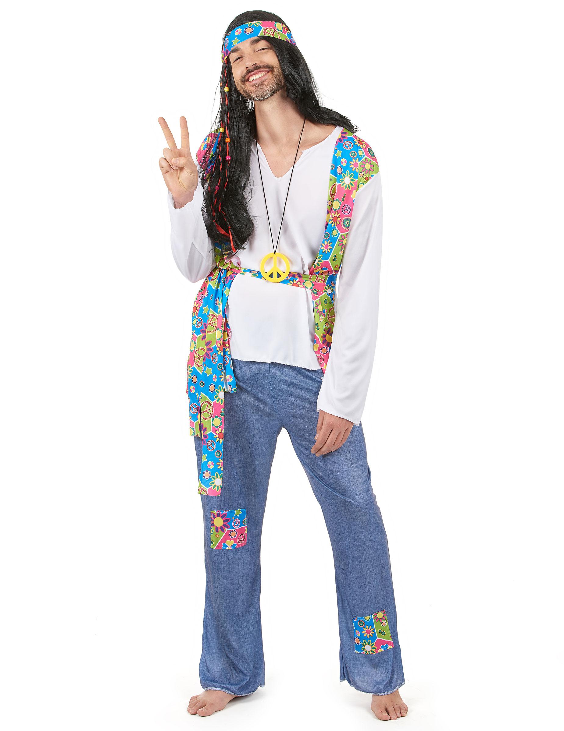 D guisement hippie homme achat de d guisements adultes sur vegaoopro grossiste en d guisements - Tenue hippie homme ...