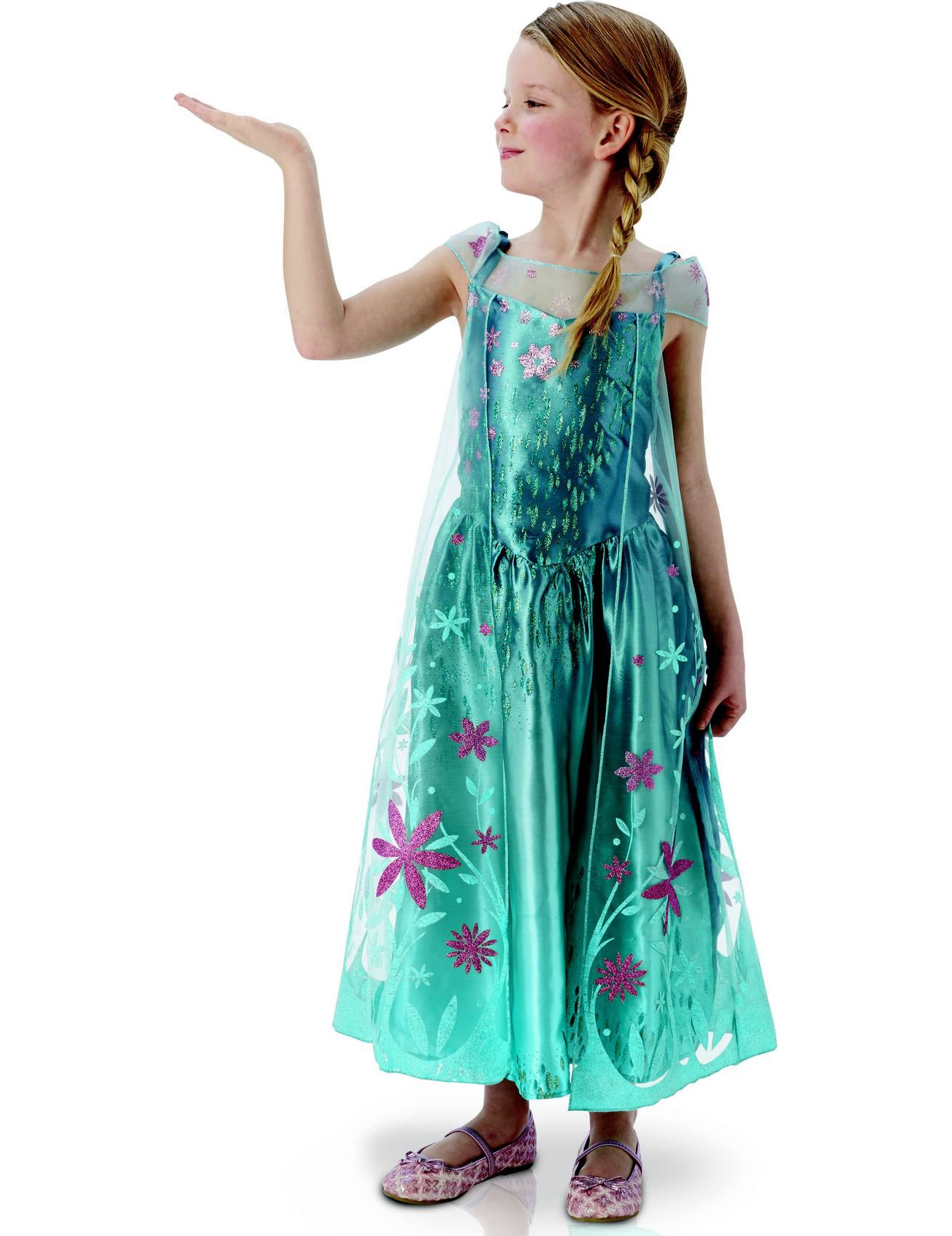 Déguisement Elsa Frozen™ - Une fête givrée™ fille : Deguise-toi, achat de Déguisements enfants