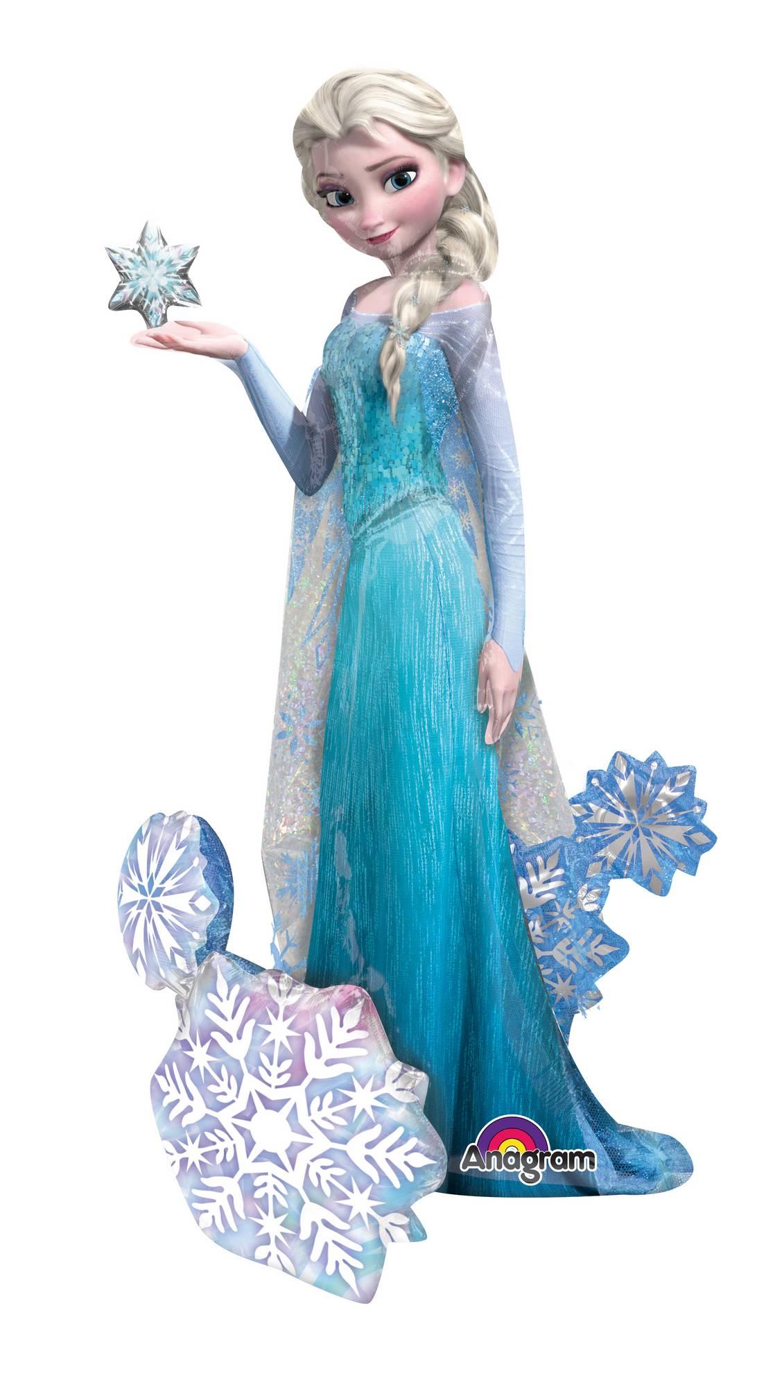 Ballon g ant elsa la reine des neiges vegaooparty d co anniversaire disney - Fauteuil la reine des neiges ...