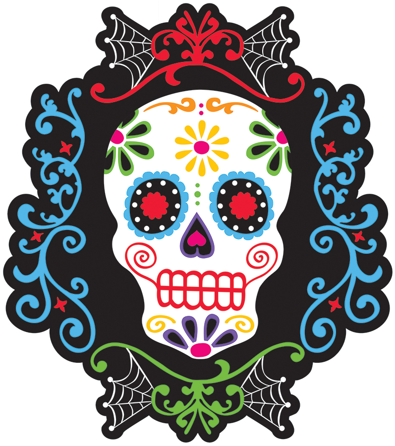 D Coration Murale T Te De Mort Mexicaine Achat De