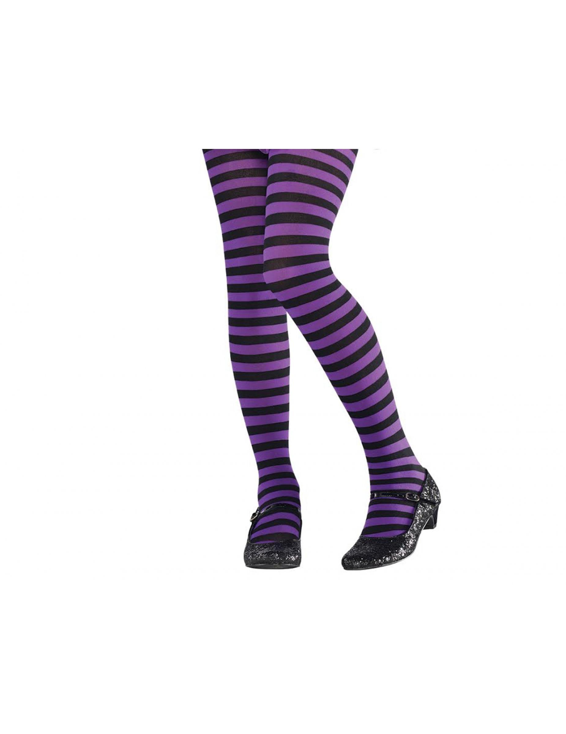 collants ray s violet et noir enfant deguise toi achat de accessoires. Black Bedroom Furniture Sets. Home Design Ideas