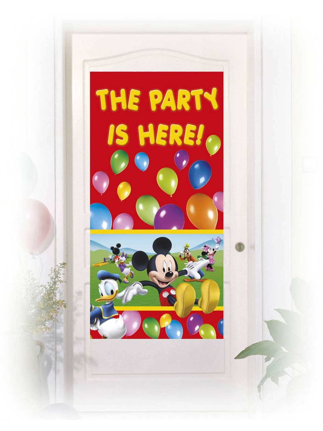 D coration de porte mickey mouse deguise toi achat de for Decoration porte photo