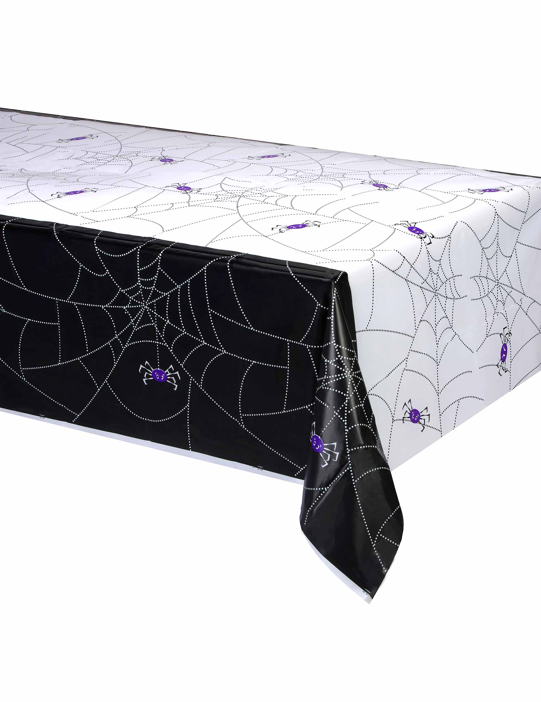 nappe plastique toile d 39 araign e halloween 137 x 214 cm. Black Bedroom Furniture Sets. Home Design Ideas