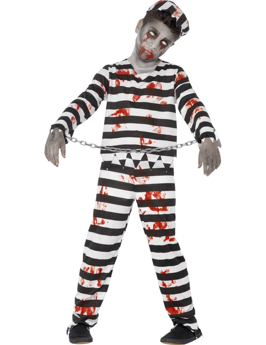 d guisement zombie prisonnier gar on halloween deguise toi achat de d guisements enfants. Black Bedroom Furniture Sets. Home Design Ideas