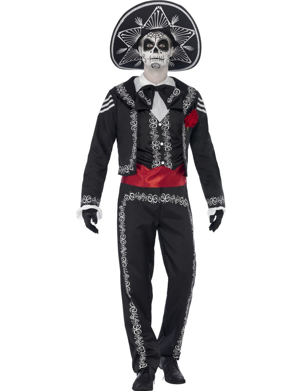d guisement squelette mexicain homme dia de los muertos deguise toi achat de d guisements adultes. Black Bedroom Furniture Sets. Home Design Ideas