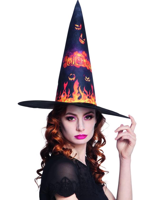 chapeau sorci re citrouille halloween deguise toi achat de chapeaux. Black Bedroom Furniture Sets. Home Design Ideas