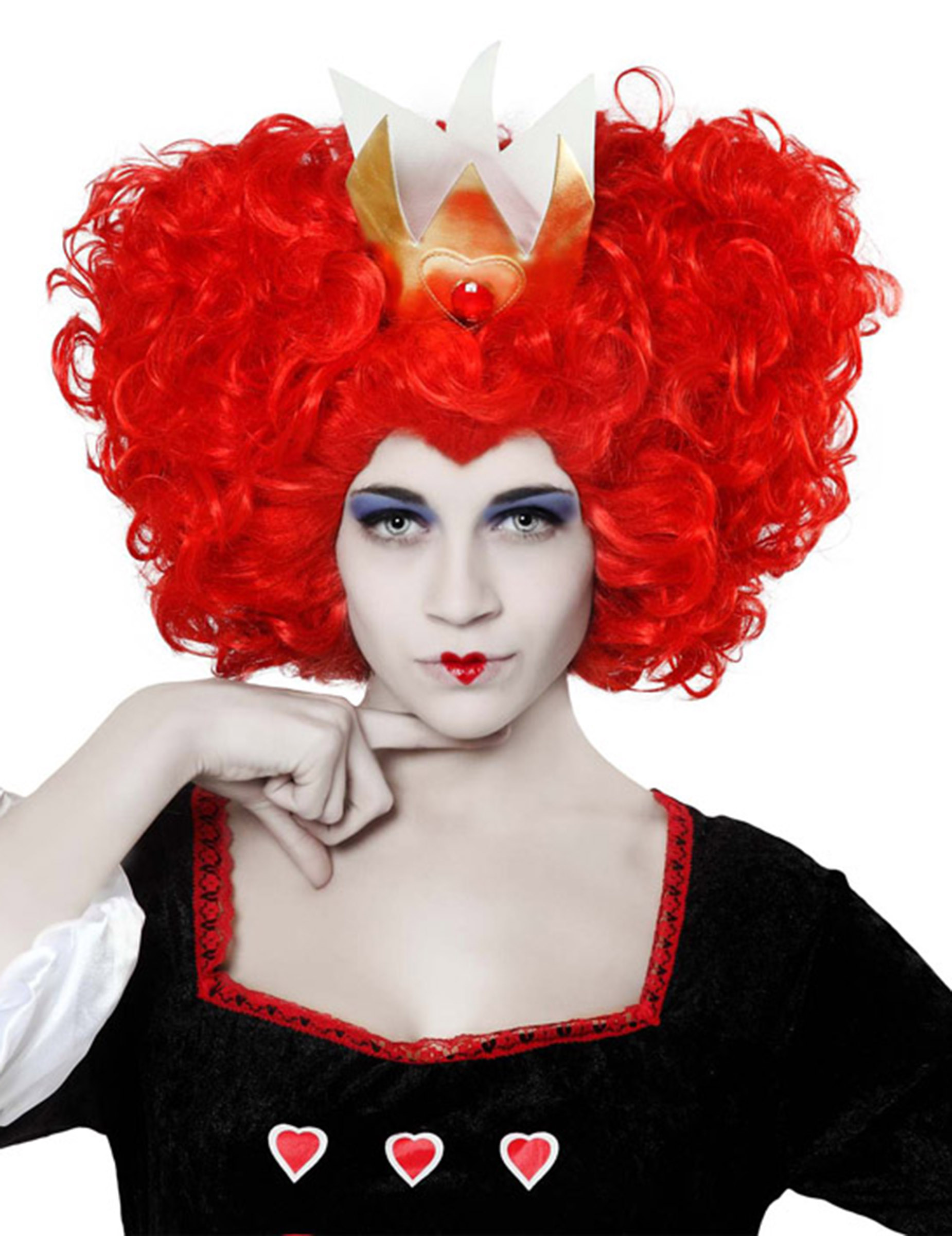 perruque reine de coeur femme deguise toi achat de perruques. Black Bedroom Furniture Sets. Home Design Ideas