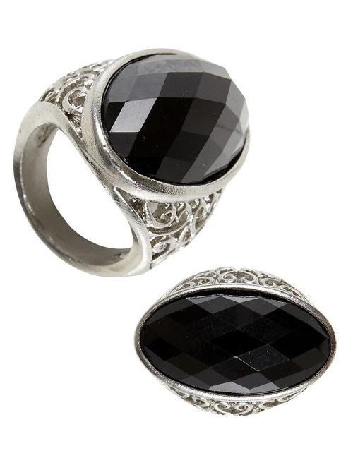bague pierre noire femme halloween deguise toi achat de. Black Bedroom Furniture Sets. Home Design Ideas