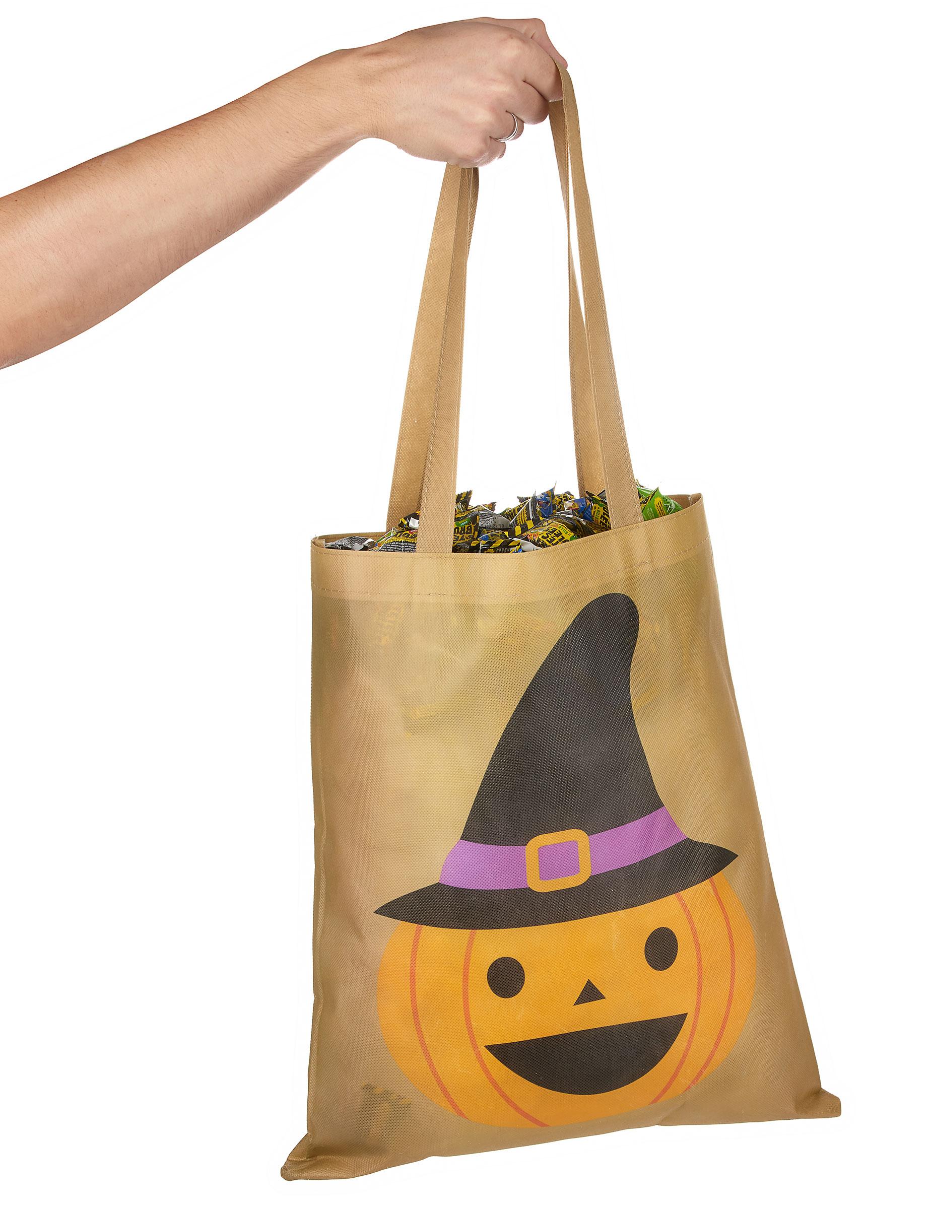 sac bonbons citrouille 43 cm halloween deguise toi achat de accessoires. Black Bedroom Furniture Sets. Home Design Ideas