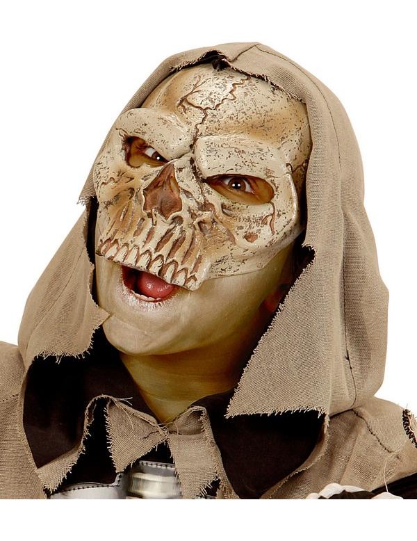 demi masque squelette enfant halloween deguise toi. Black Bedroom Furniture Sets. Home Design Ideas