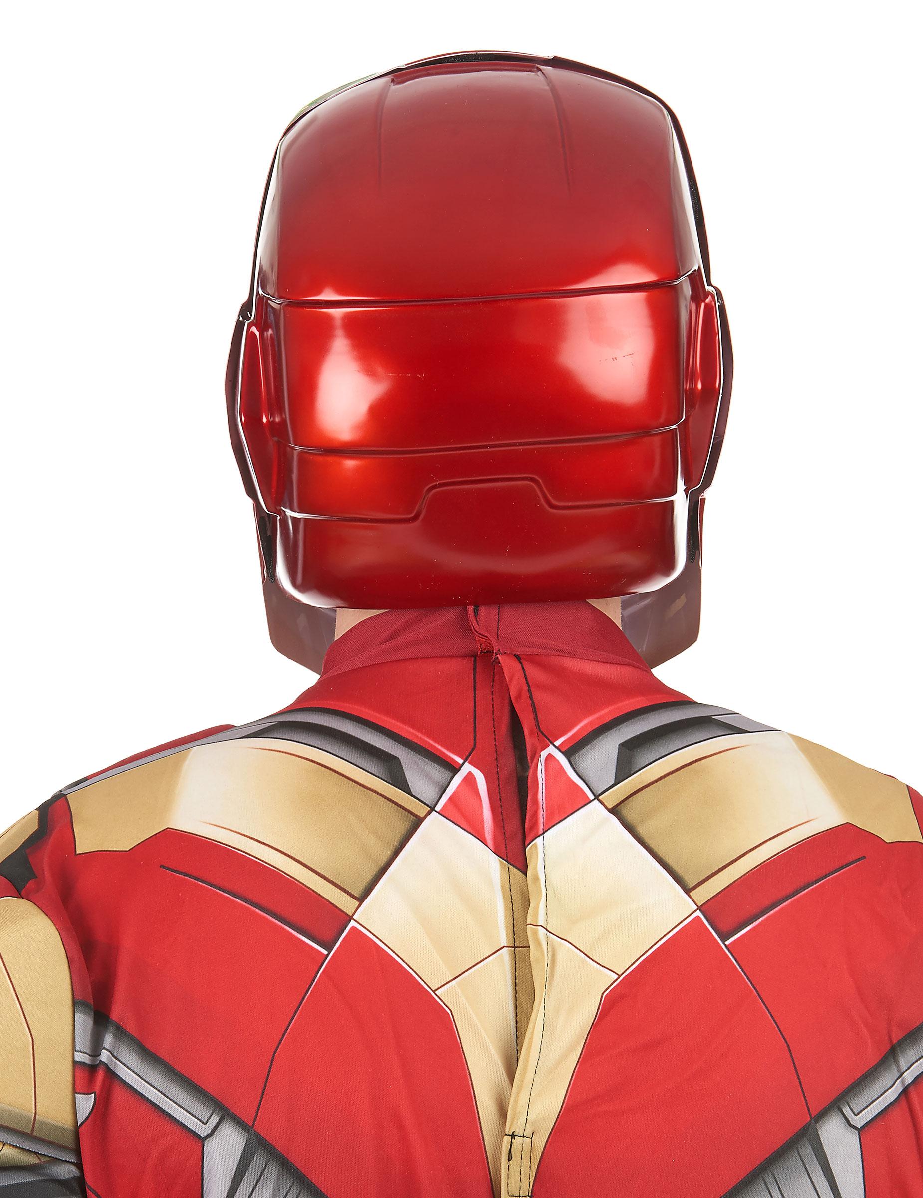 Masque adulte 2 pieces iron man movie 2 deguise toi - Masque iron man adulte ...