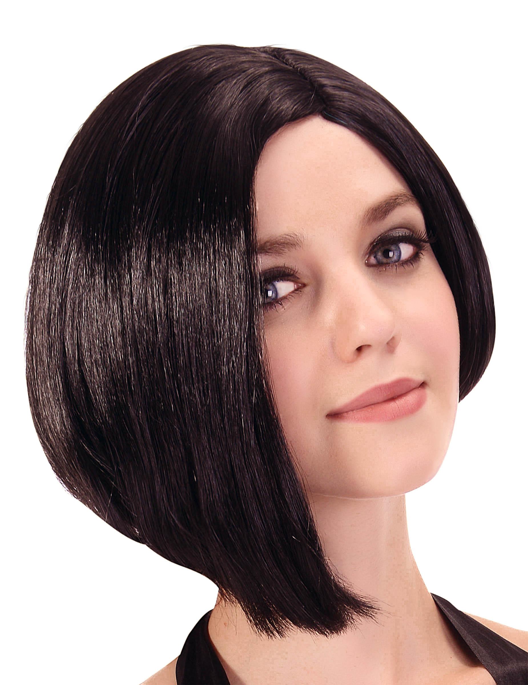 perruque courte carr plongeant asym trique femme deguise toi achat de perruques. Black Bedroom Furniture Sets. Home Design Ideas
