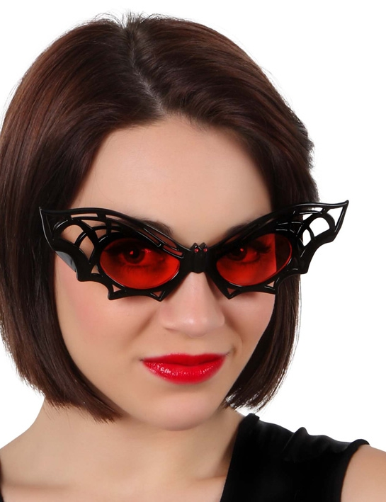 lunettes chauve souris halloween achat de accessoires sur vegaoopro grossiste en d guisements. Black Bedroom Furniture Sets. Home Design Ideas