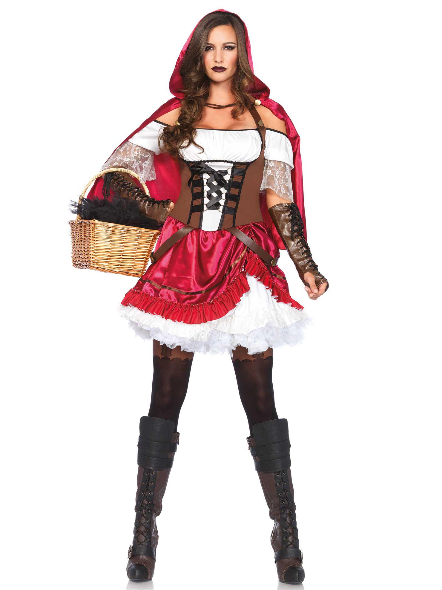 d guisement chaperon rouge rebelle femme deguise toi achat de d guisements adultes. Black Bedroom Furniture Sets. Home Design Ideas