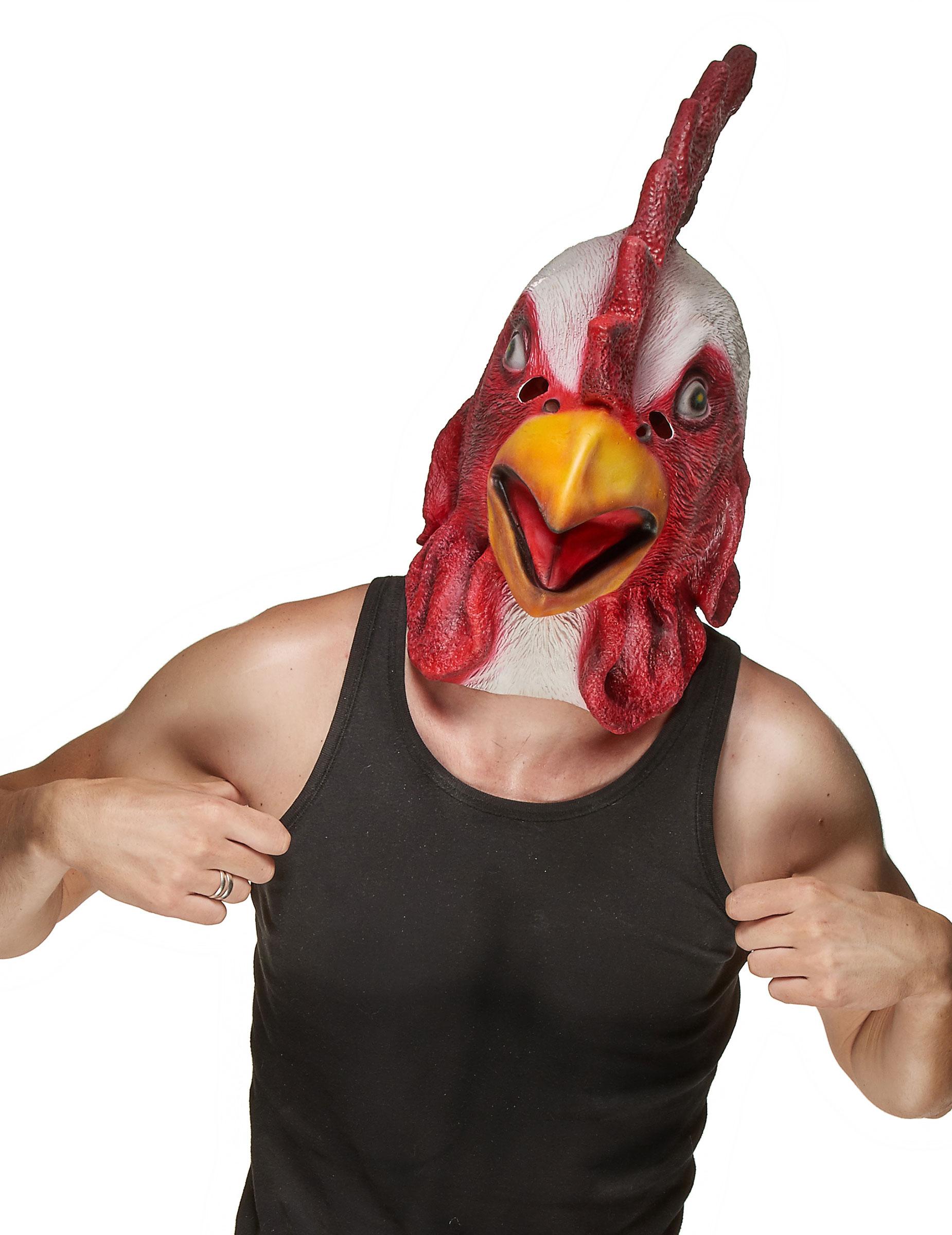 Coq à tête rouge