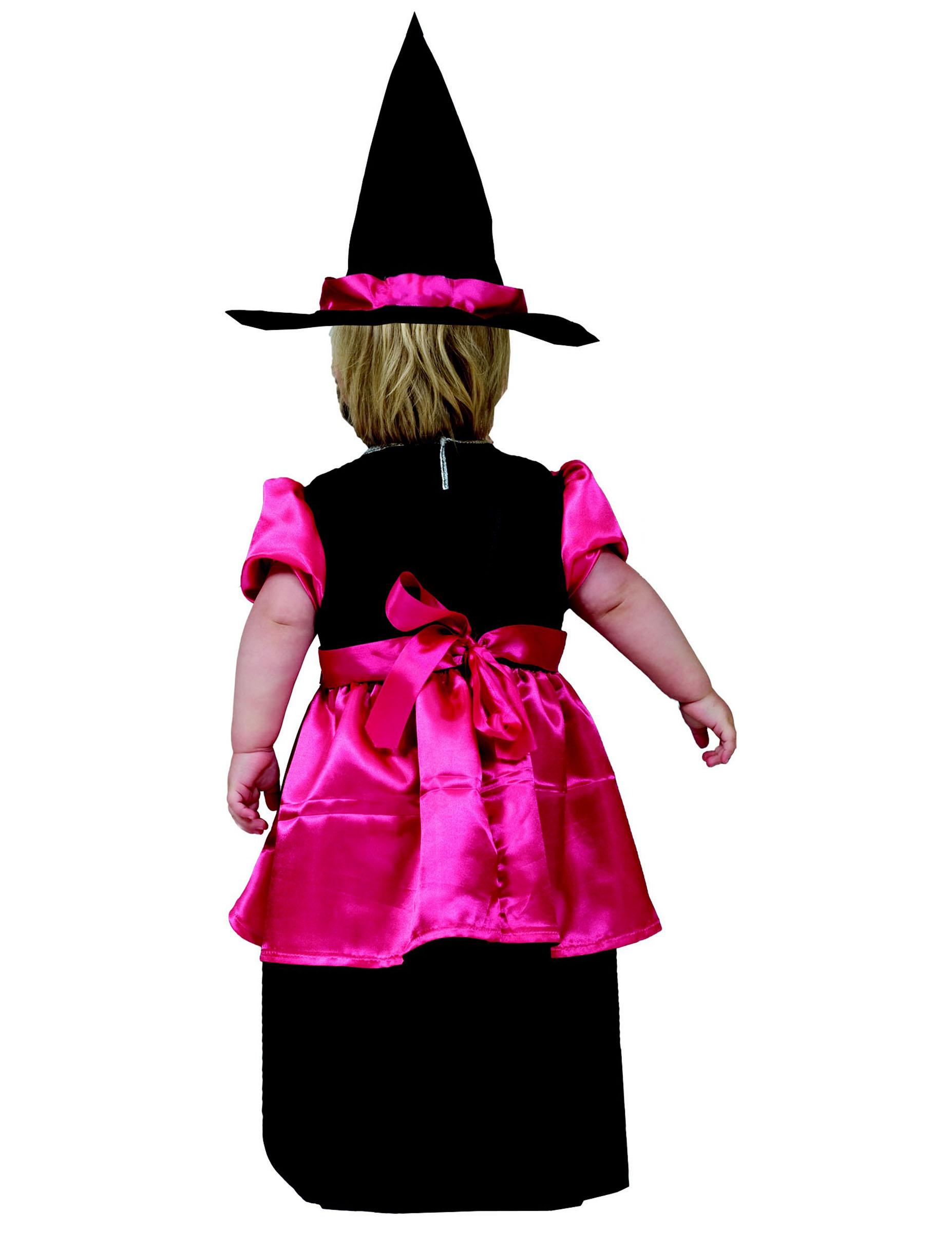 D guisement petite sorci re rose fille halloween deguise toi achat de d guisements enfants - Deguisement petite fille ...